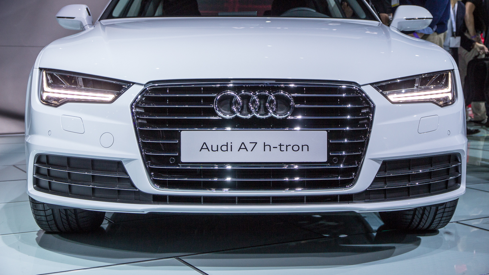 Audi A7 h-tron quattro, 2014 Los Angeles Auto Show