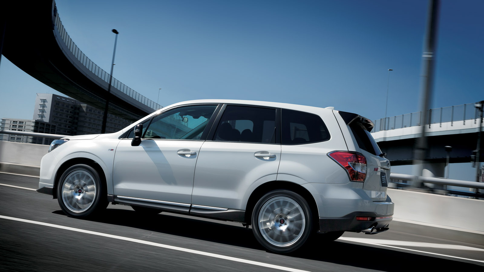 Subaru Releases Sti Enhanced Forester Ts In Japan
