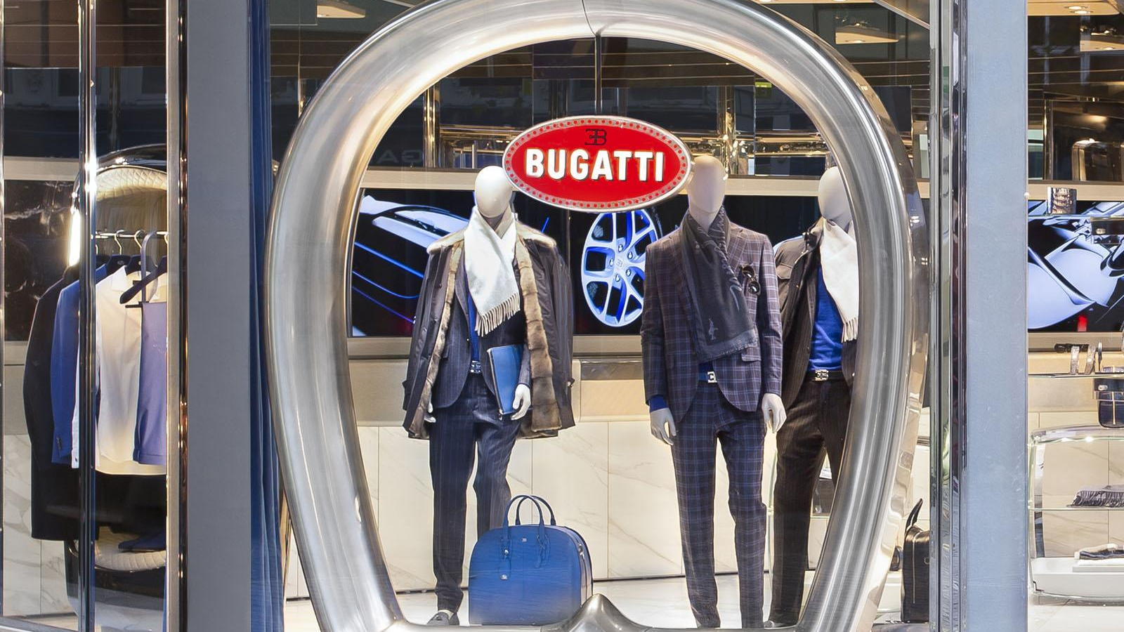 Bugatti lifestyle boutique, London