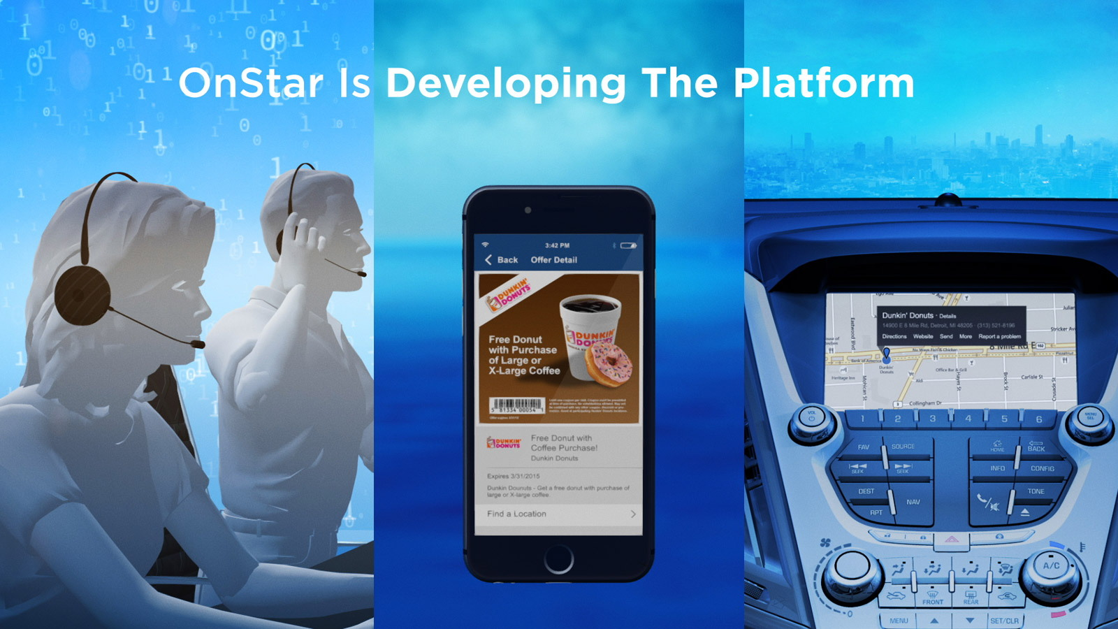 Chevrolet's new OnStar services, 2015 Consumer Electronics Show