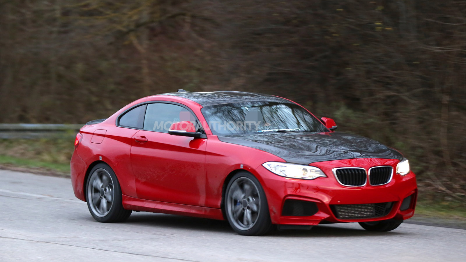 Mysterious BMW prototype spy shots