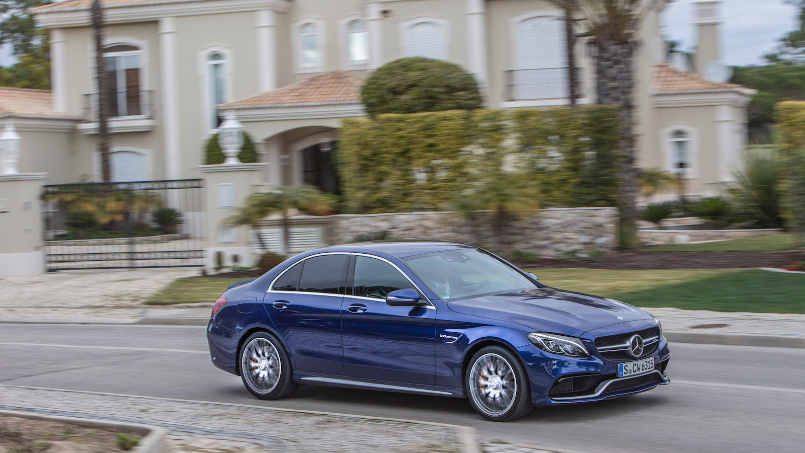 2015 Mercedes-AMG C63 S first drive, Portugal