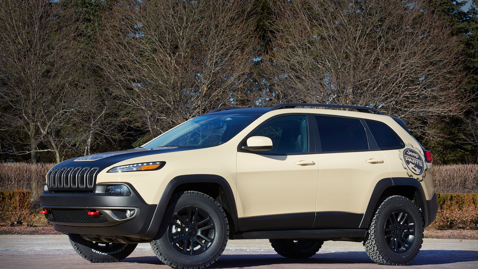 Jeep Cherokee Canyon Trail Concept for Moab Easter Jeep Safari, 2015
