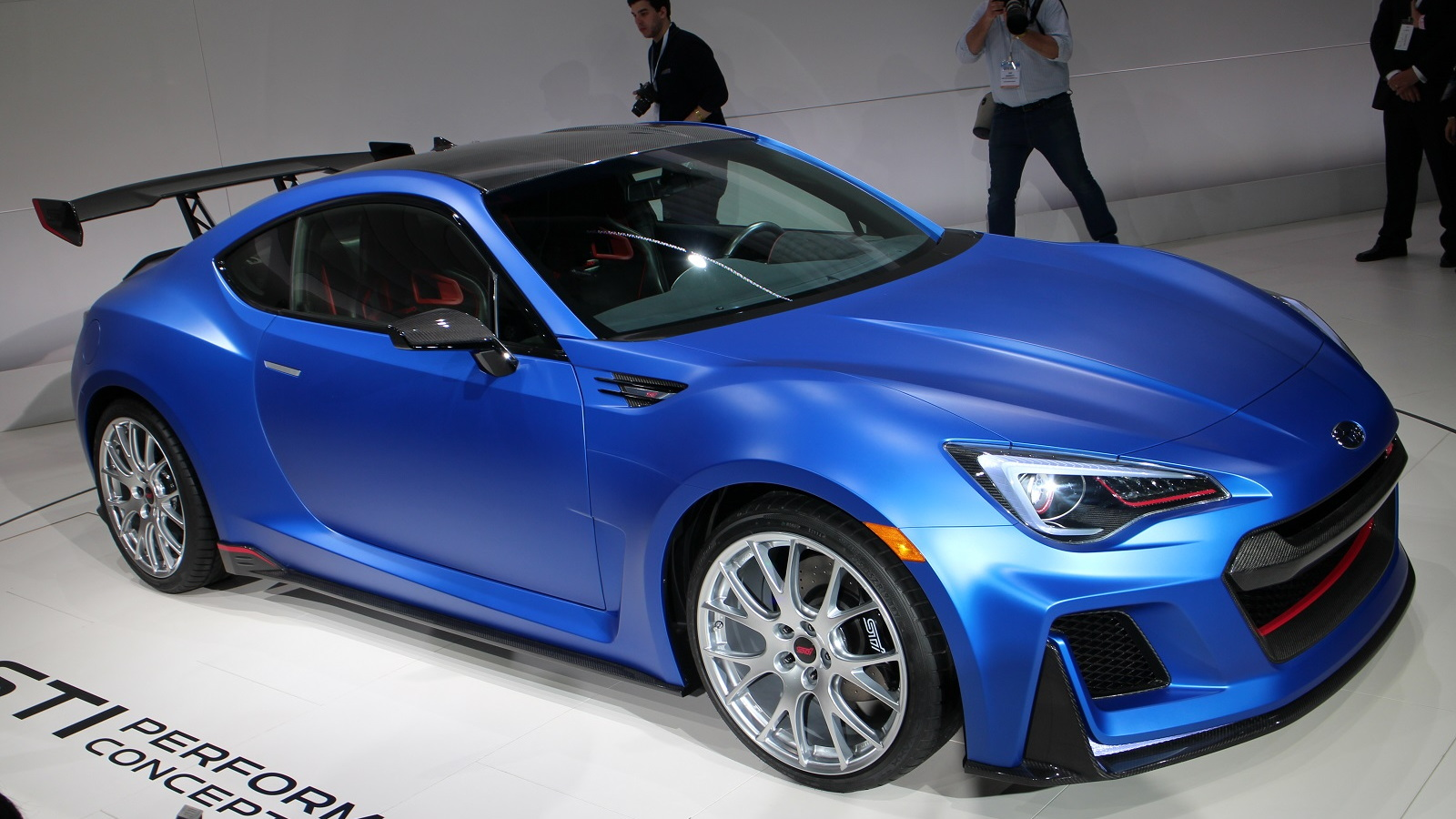 Subaru STI Performance Concept - 2015 New York Auto Show