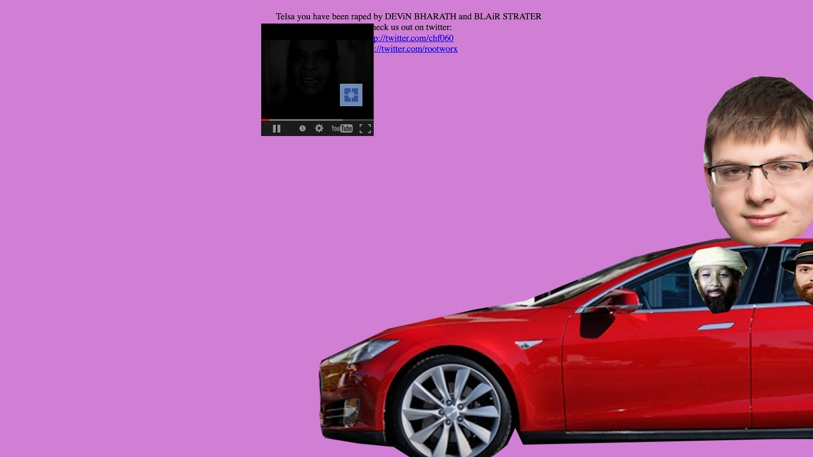 Tesla Motors website hacked, Apr 2015