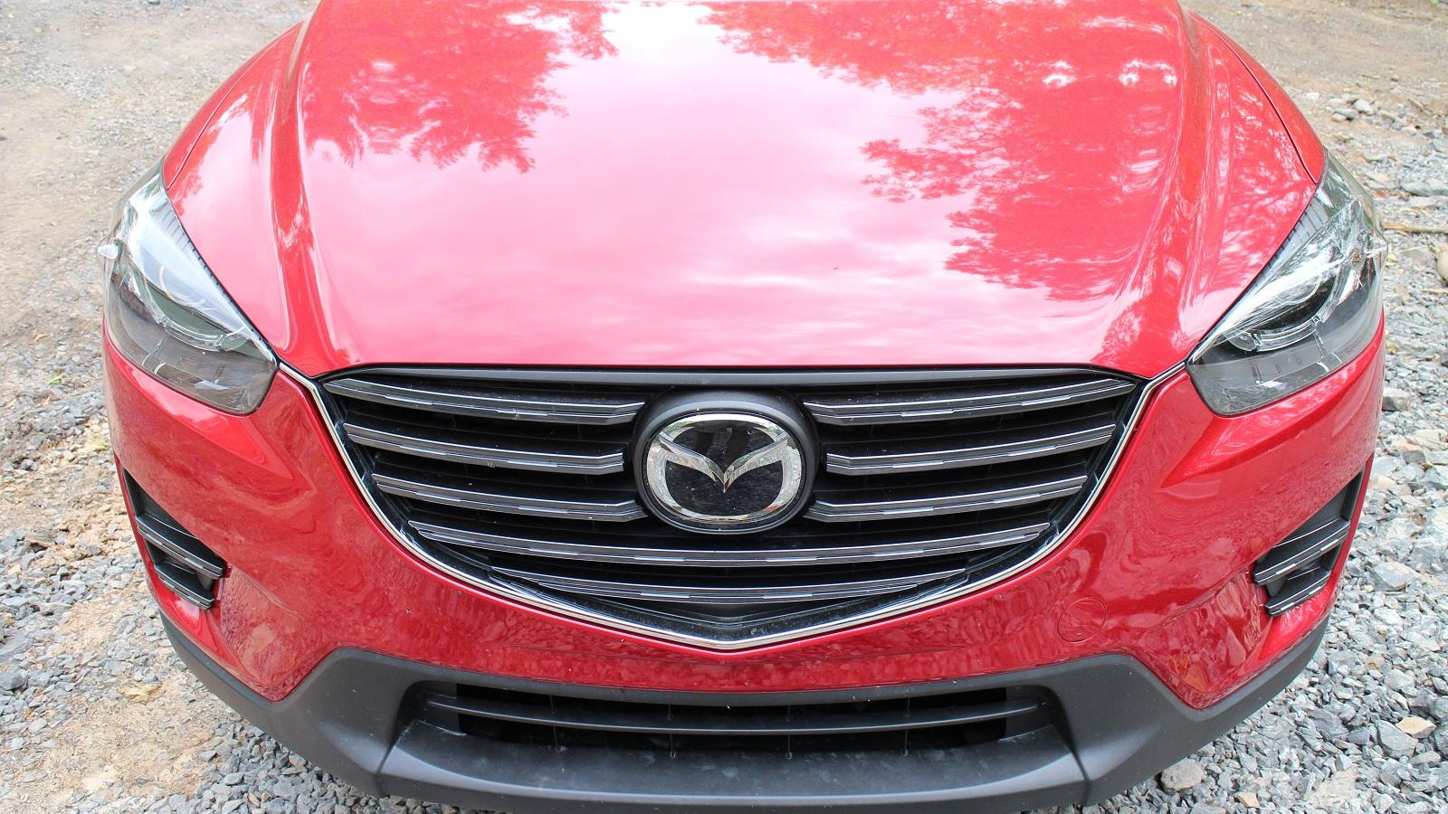 2016 Mazda CX-5 Grand Touring AWD, Catskill Mountains, New York, May 2015
