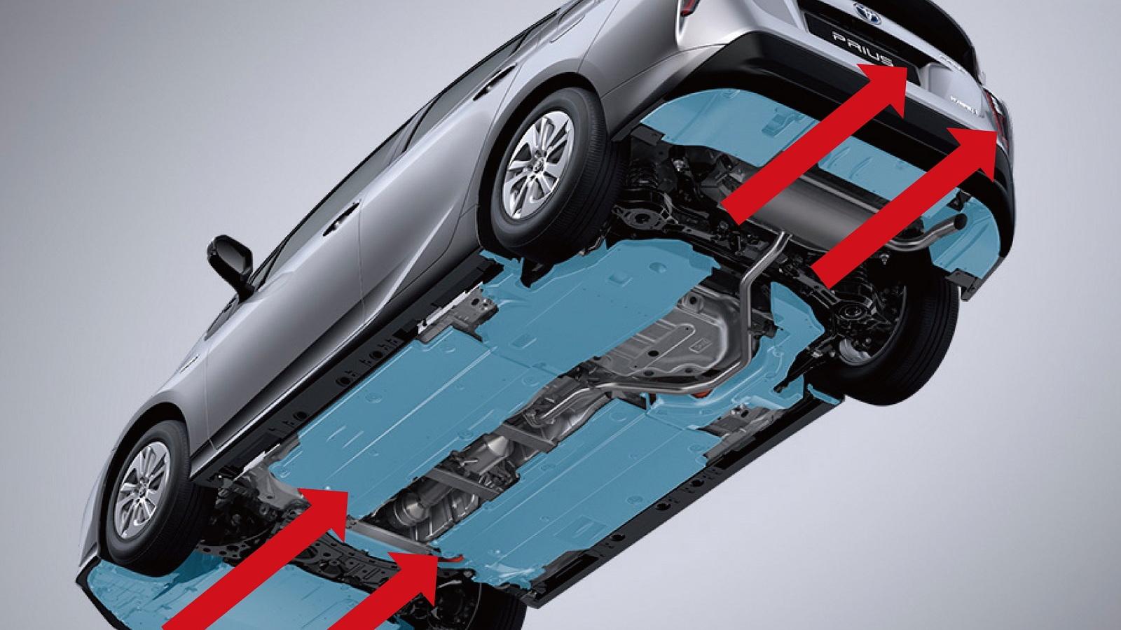 2016 Toyota Prius - underbody shields