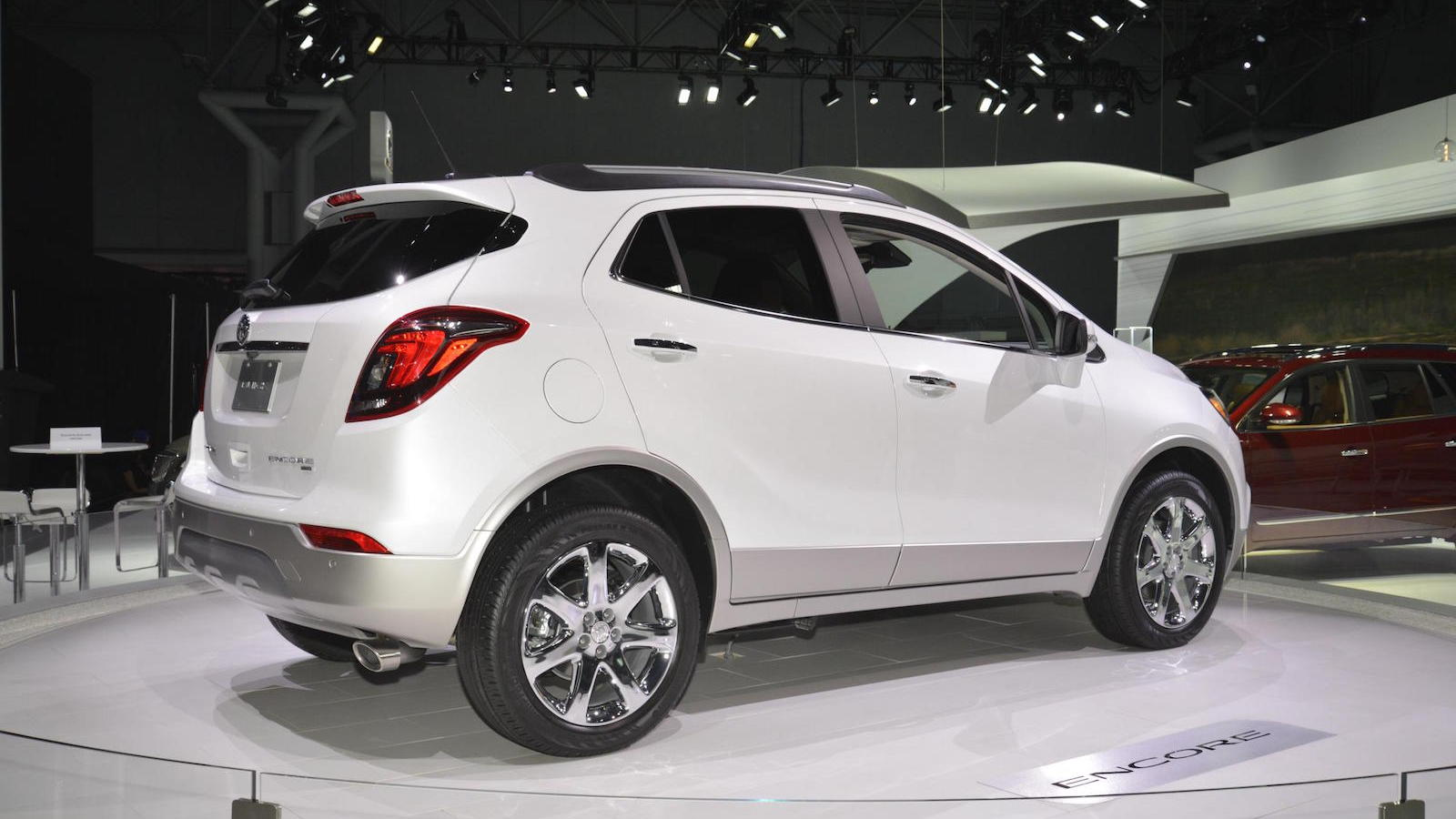 2017 Buick Encore, 2016 New York Auto Show