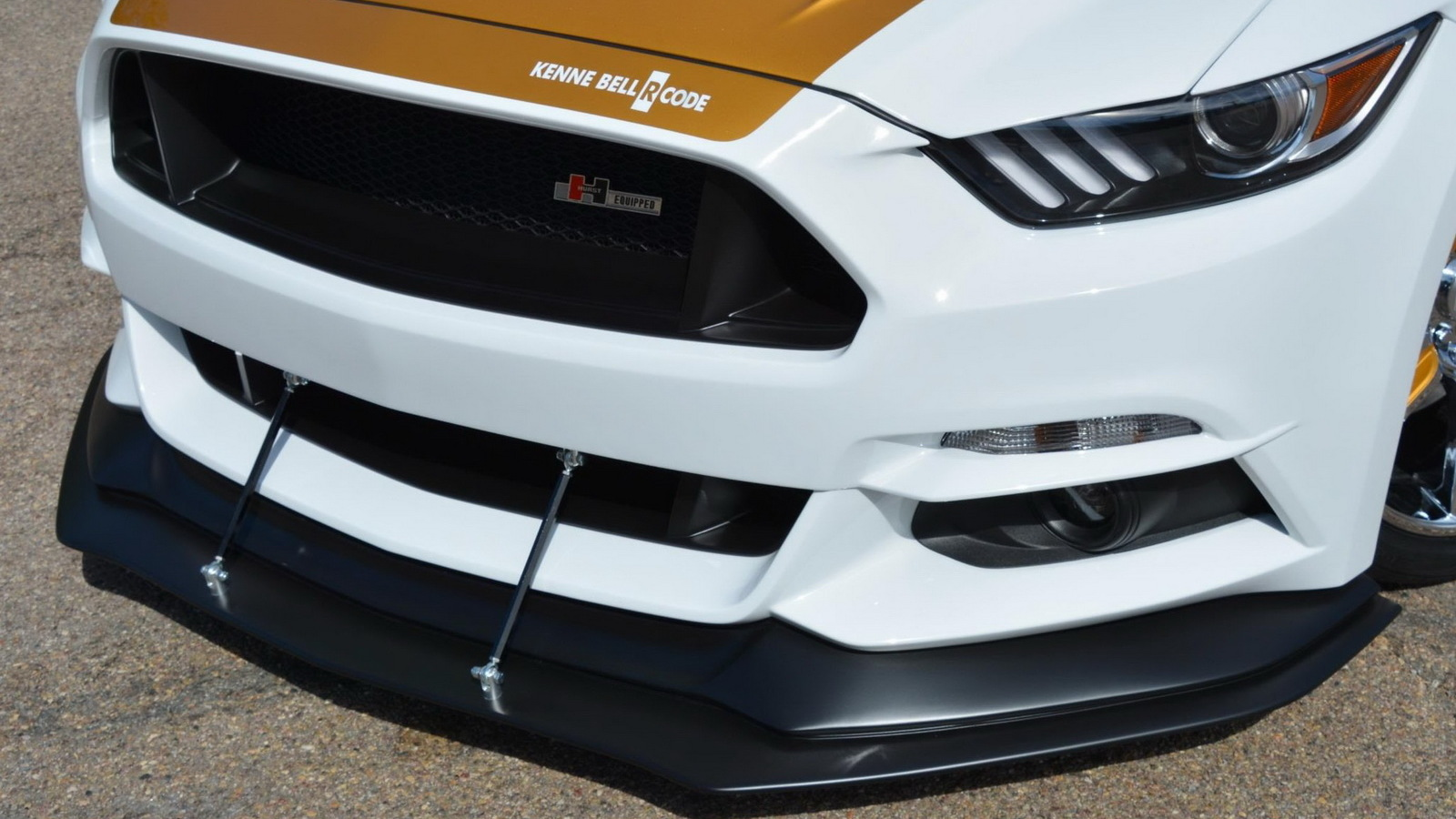 2016 Ford Mustang by Hurst/Kenne Bell, 2016 SEMA show