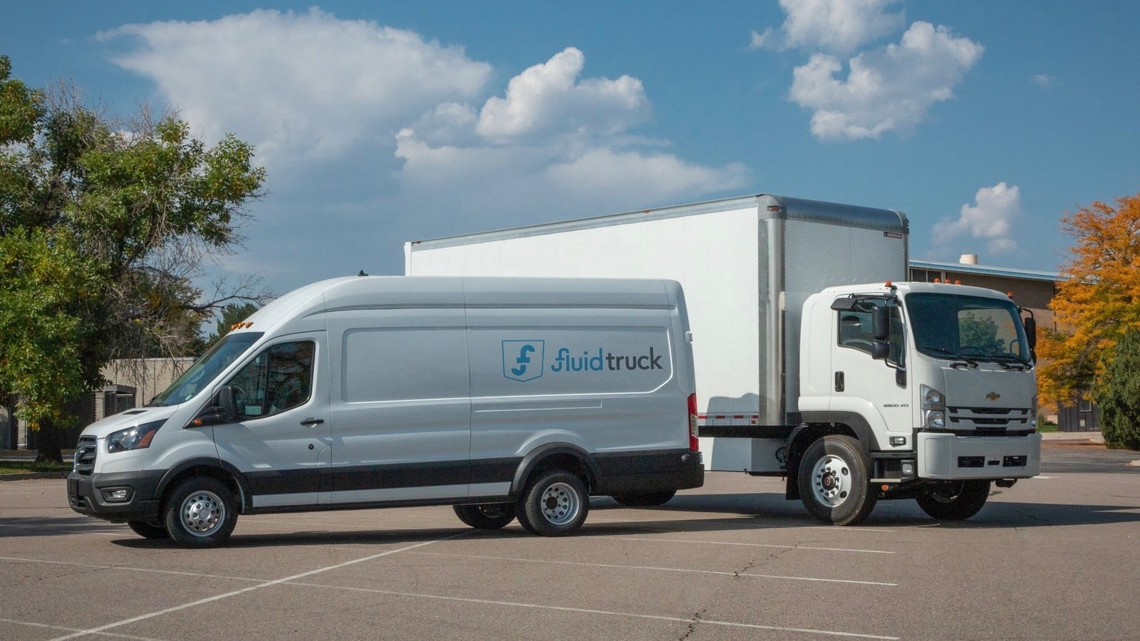 Fluid Truck electric vehicles available for rental