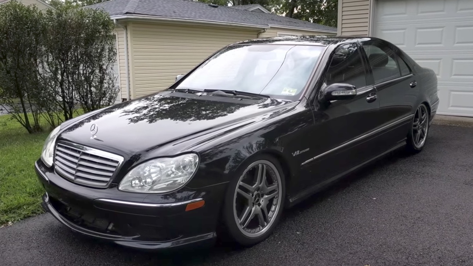 2006 Mercedes-Benz S65 AMG sold for $3,750