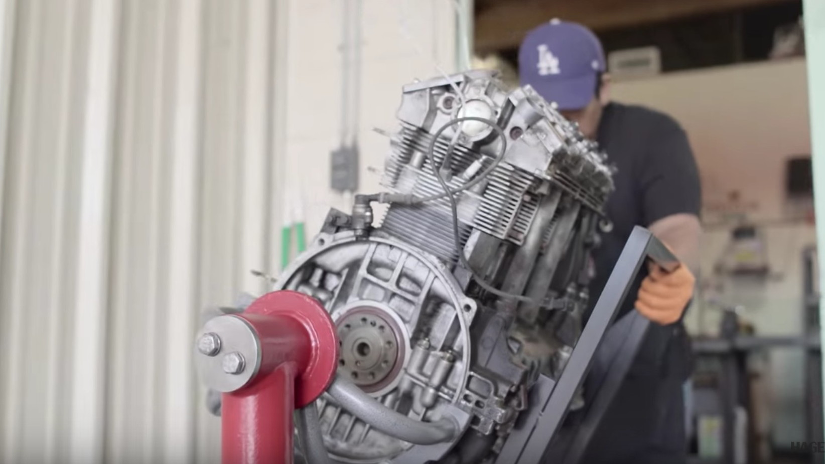 Ed Pink Racing builds the engines for Singer