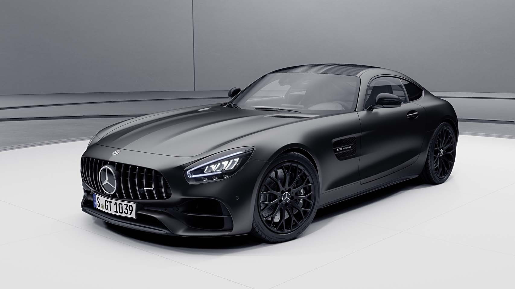 2021 Mercedes-AMG GT Stealth Edition