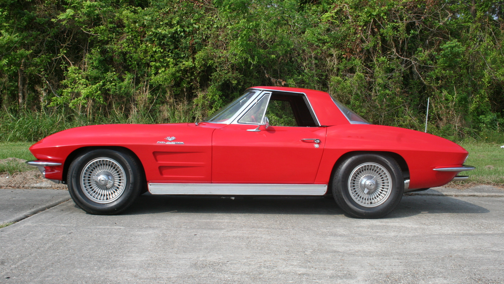 1963 Chevrolet Corvette Pilot Car. Photo via Vicari.