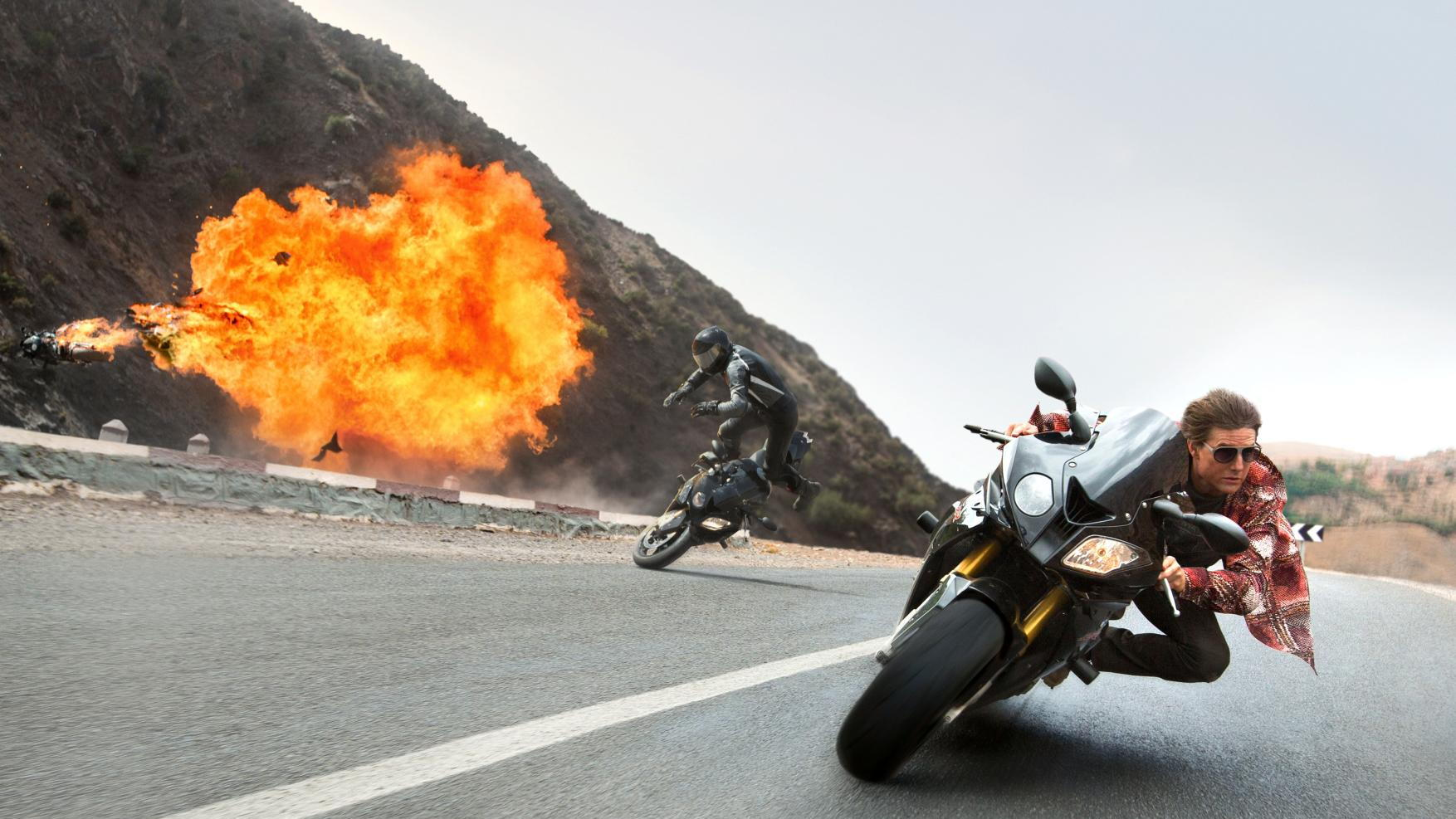 BMW in 'Mission Impossible 5: Rogue Nation'