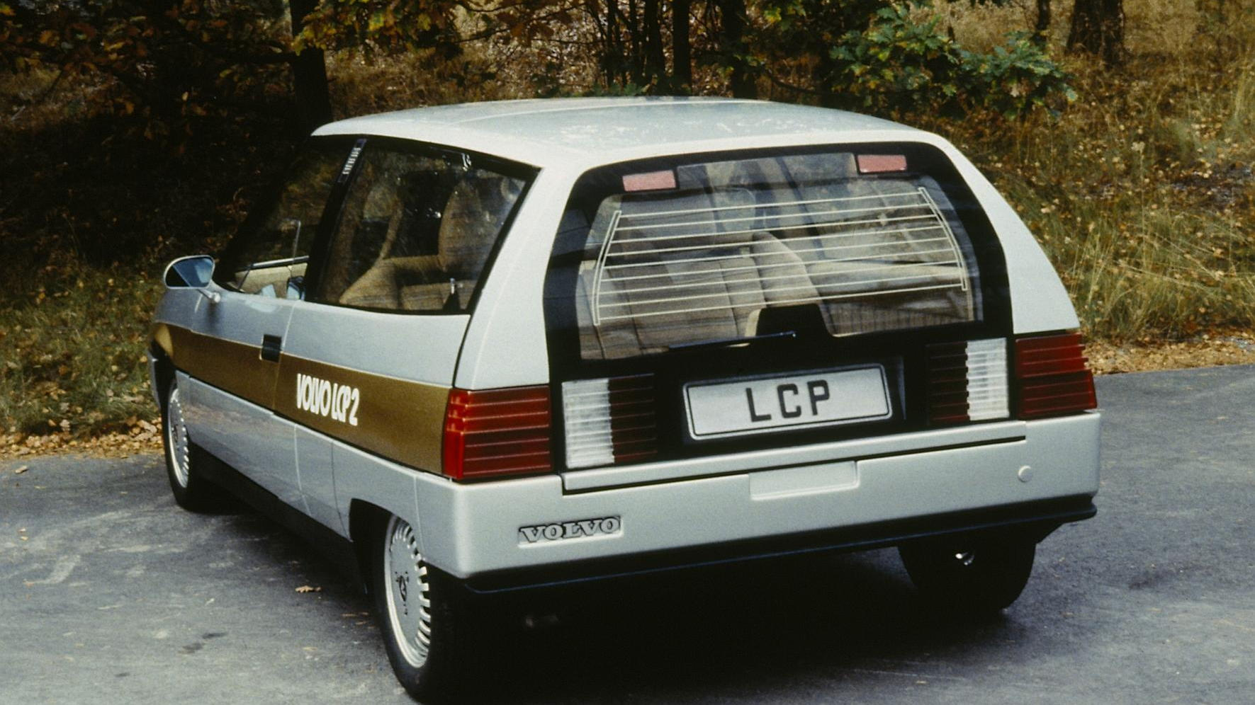 Volvo's 1983 LCP 2000 Concept Car