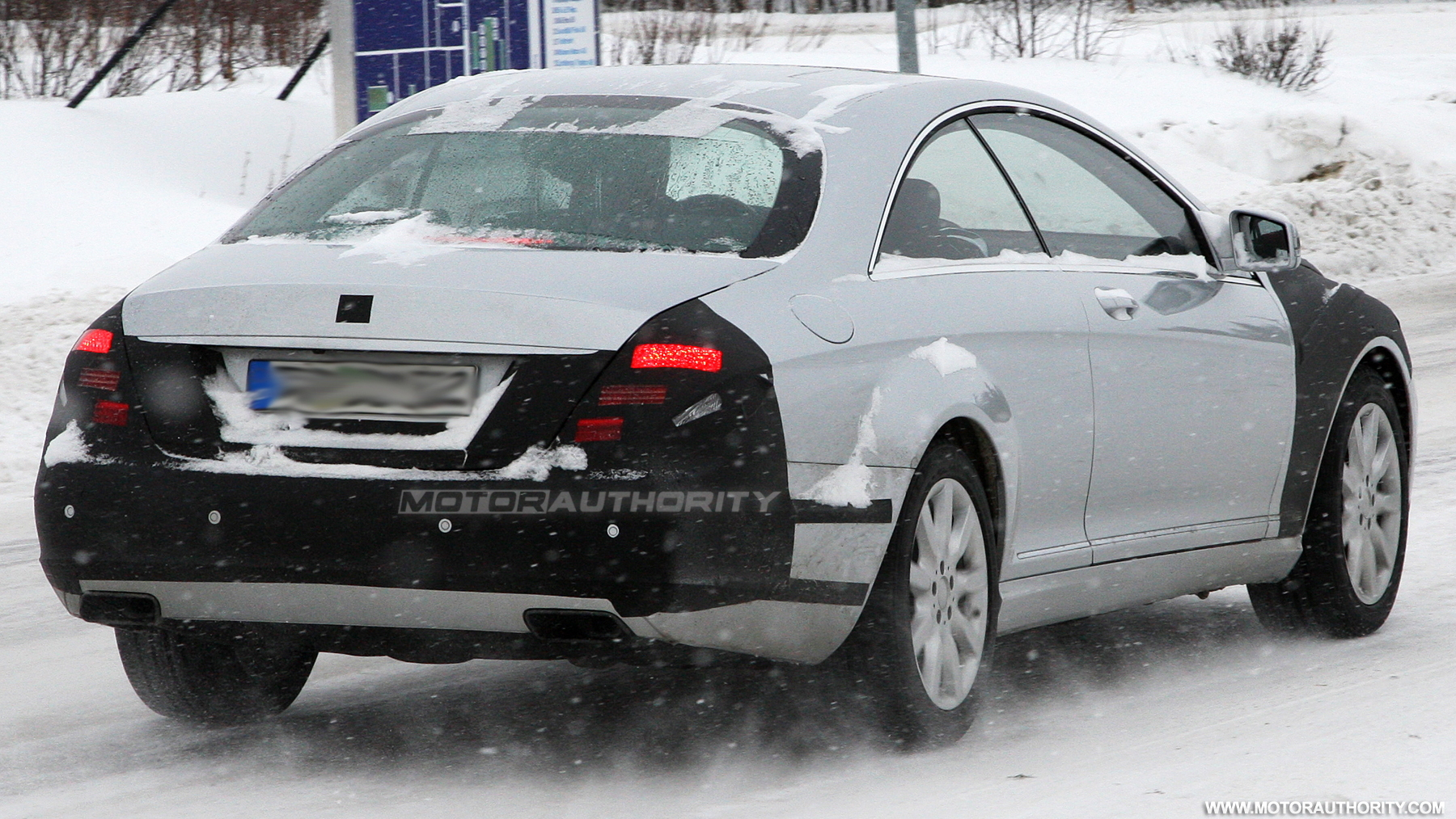 2011 mercedes benz s class coupe spy shots march 006