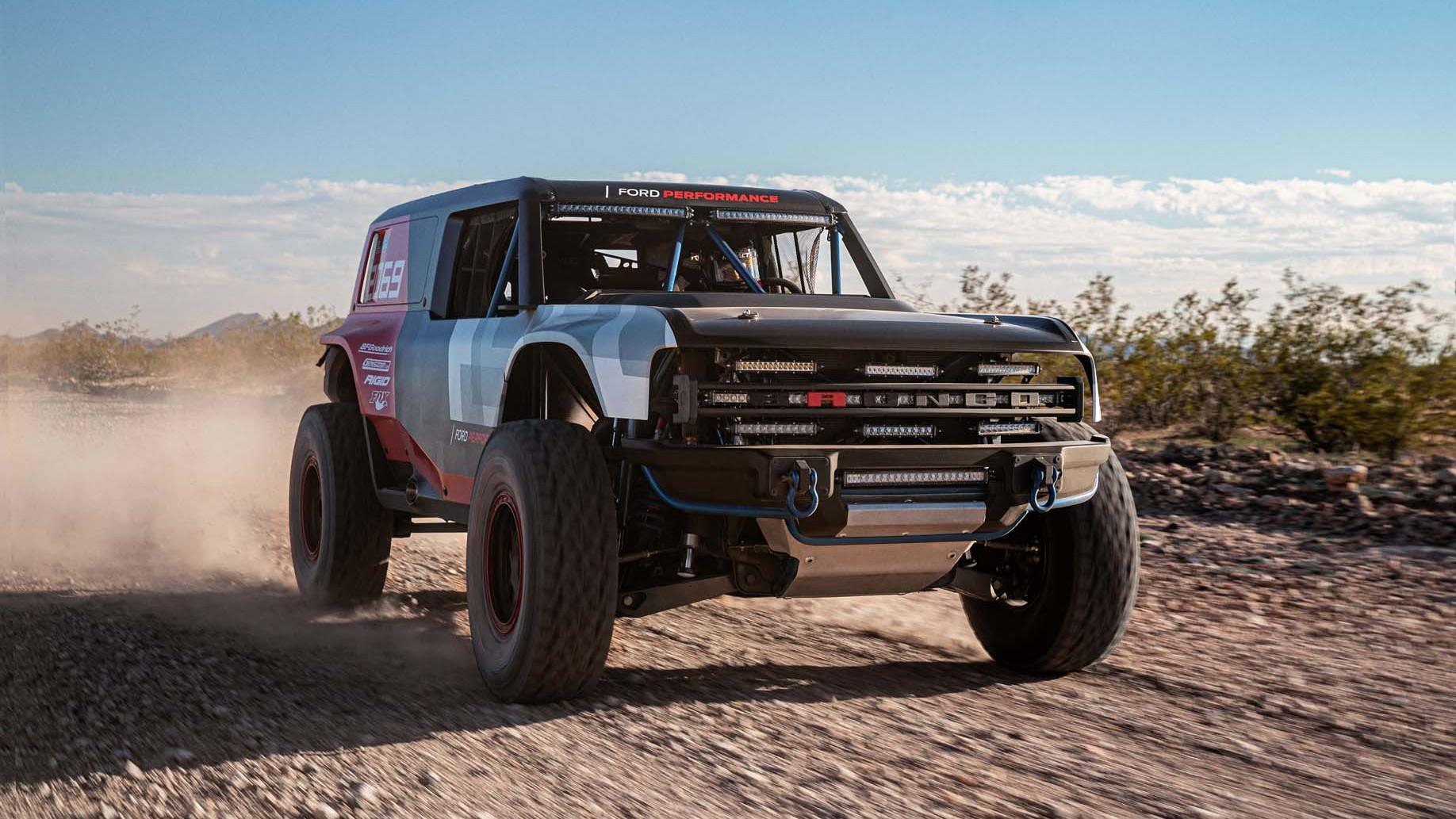 Ford Bronco R race prototype