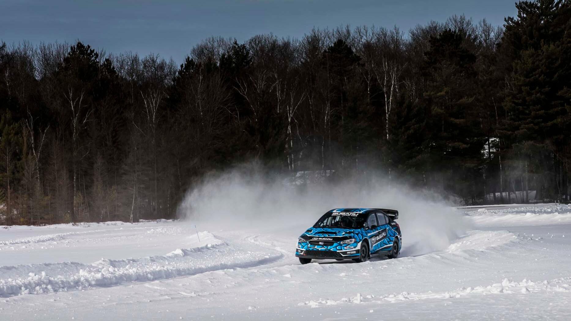 Subaru WRX rallycross race car