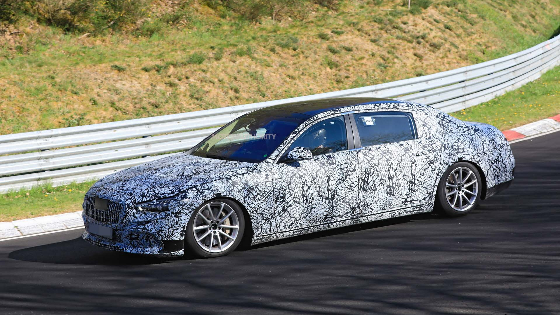 2021 Mercedes-Maybach S-Class spy shots - Photo credit: S. Baldauf/SB-Medien
