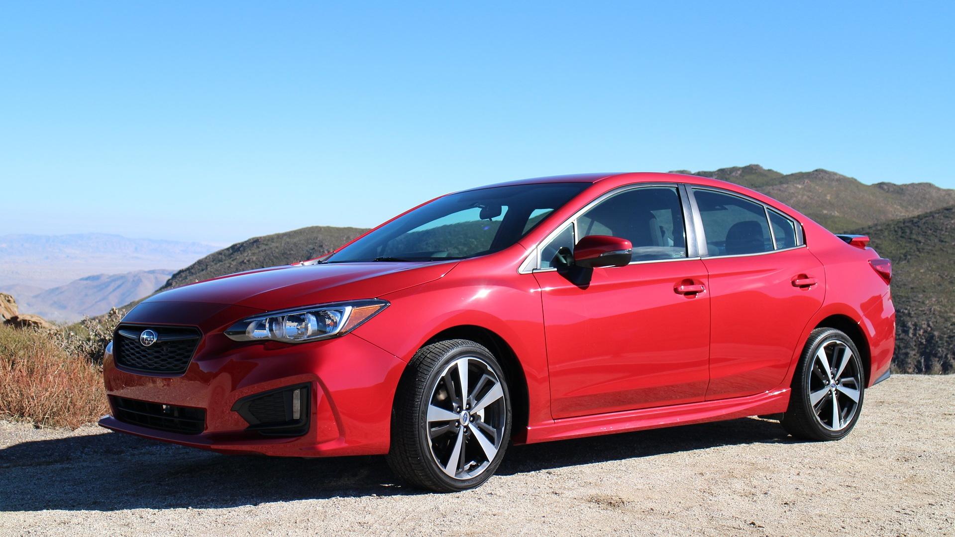2017 Subaru Impreza, La Jolla, California, Dec 2016