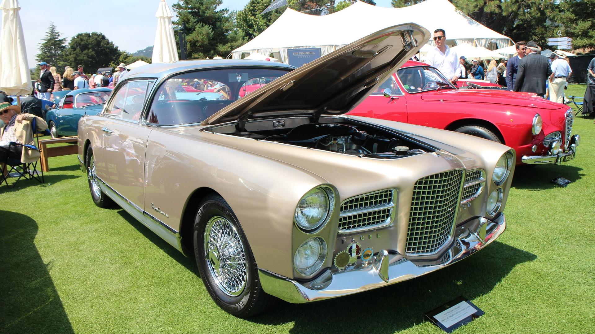 1958 Facel Vegas FVS Series 4 Sport Coupe, The Quail, 2017 Monterey Car Week
