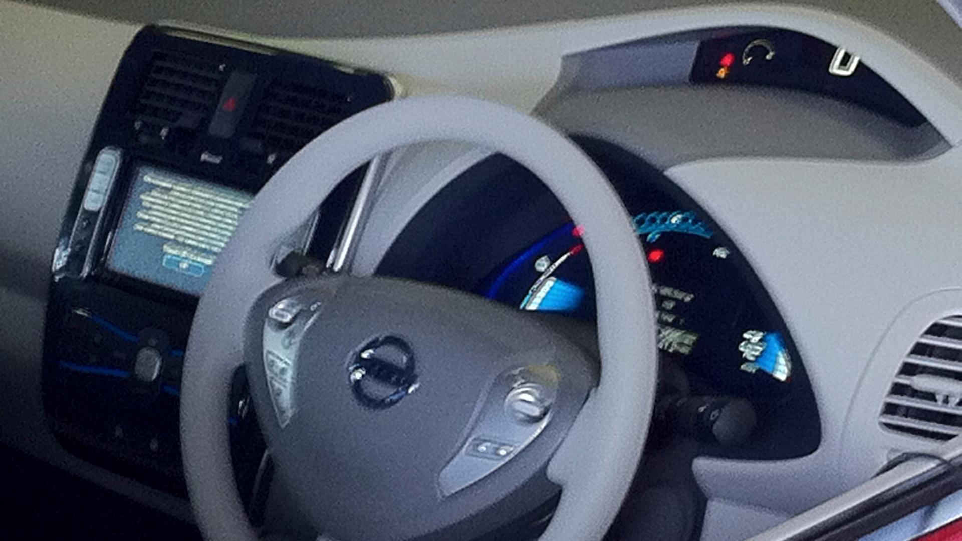 2011 Nissan Leaf Software Update