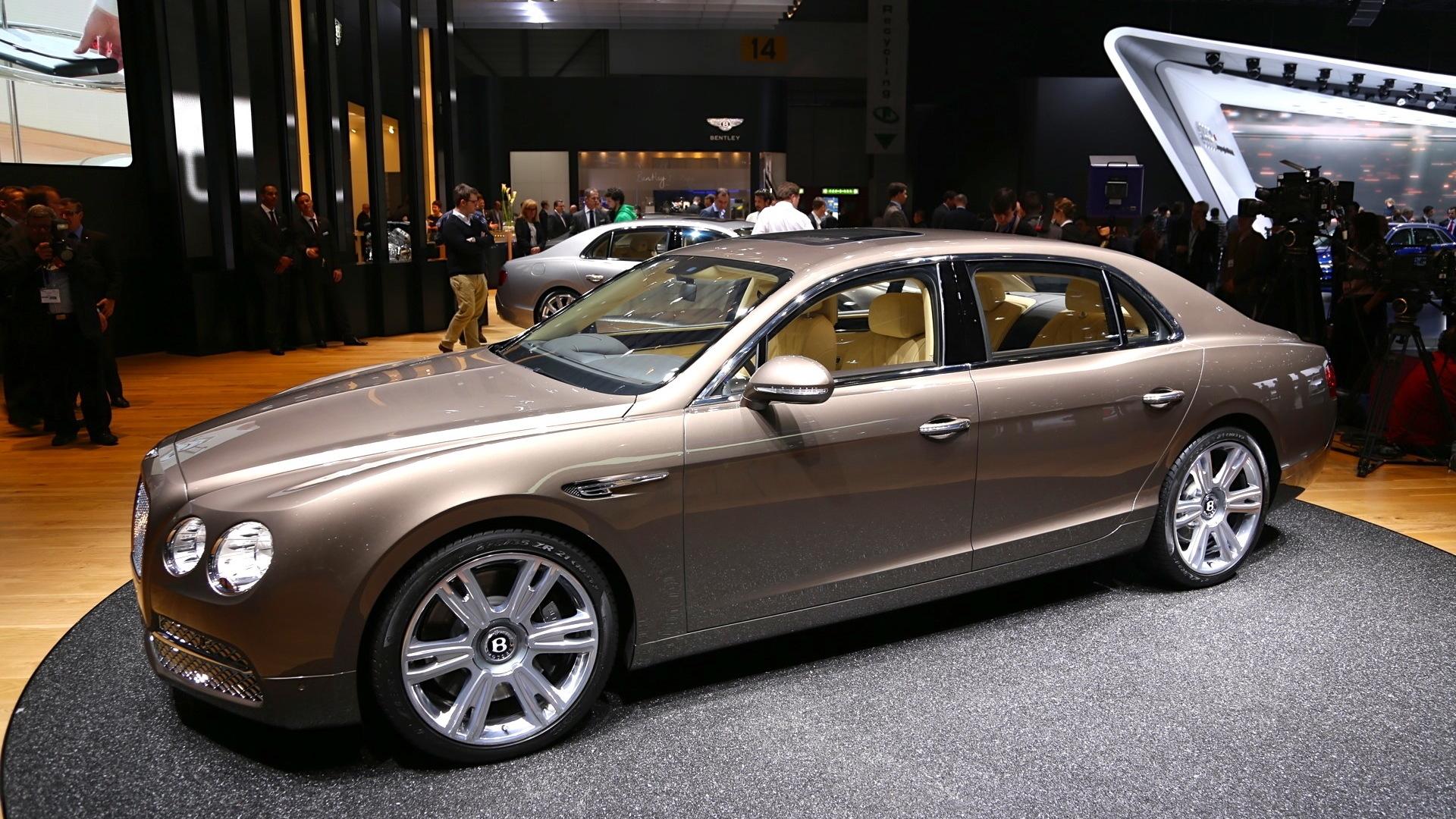 2014 Bentley Flying Spur, 2013 Geneva Motor Show