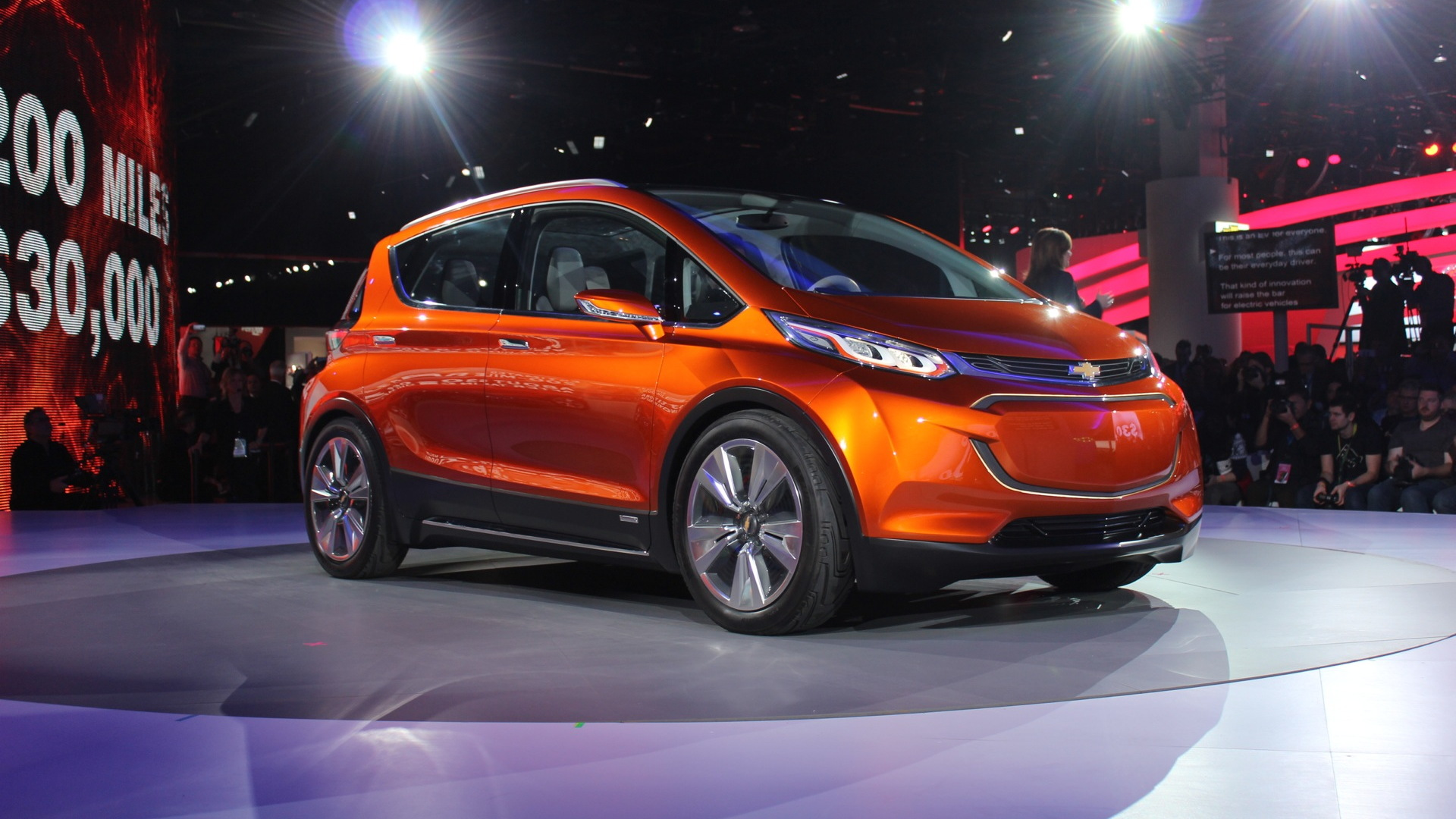 Chevrolet Bolt Concept  -  2015 Detroit Auto Show live photos