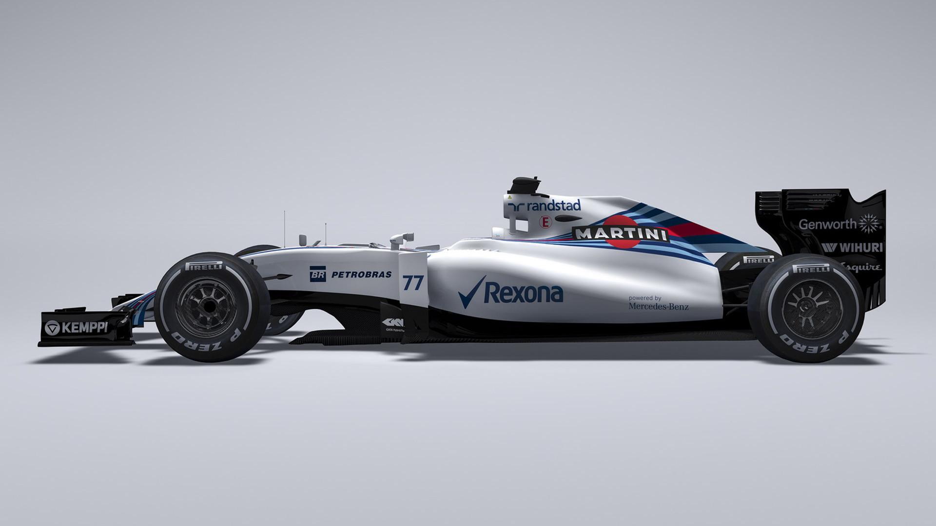 Williams FW37 2015 Formula One car