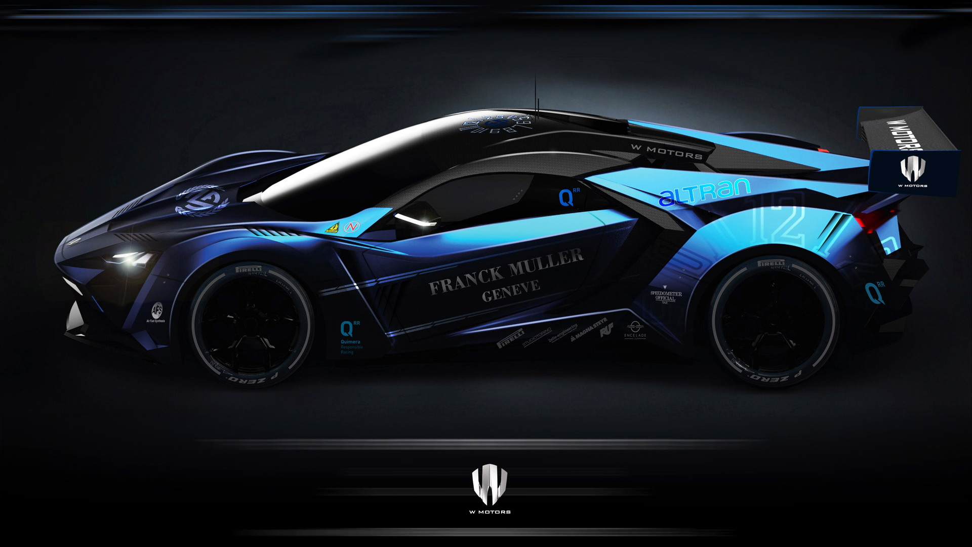 W Motors Lykan Supersport HSF (Hybrid Synthetic Fuel) race car