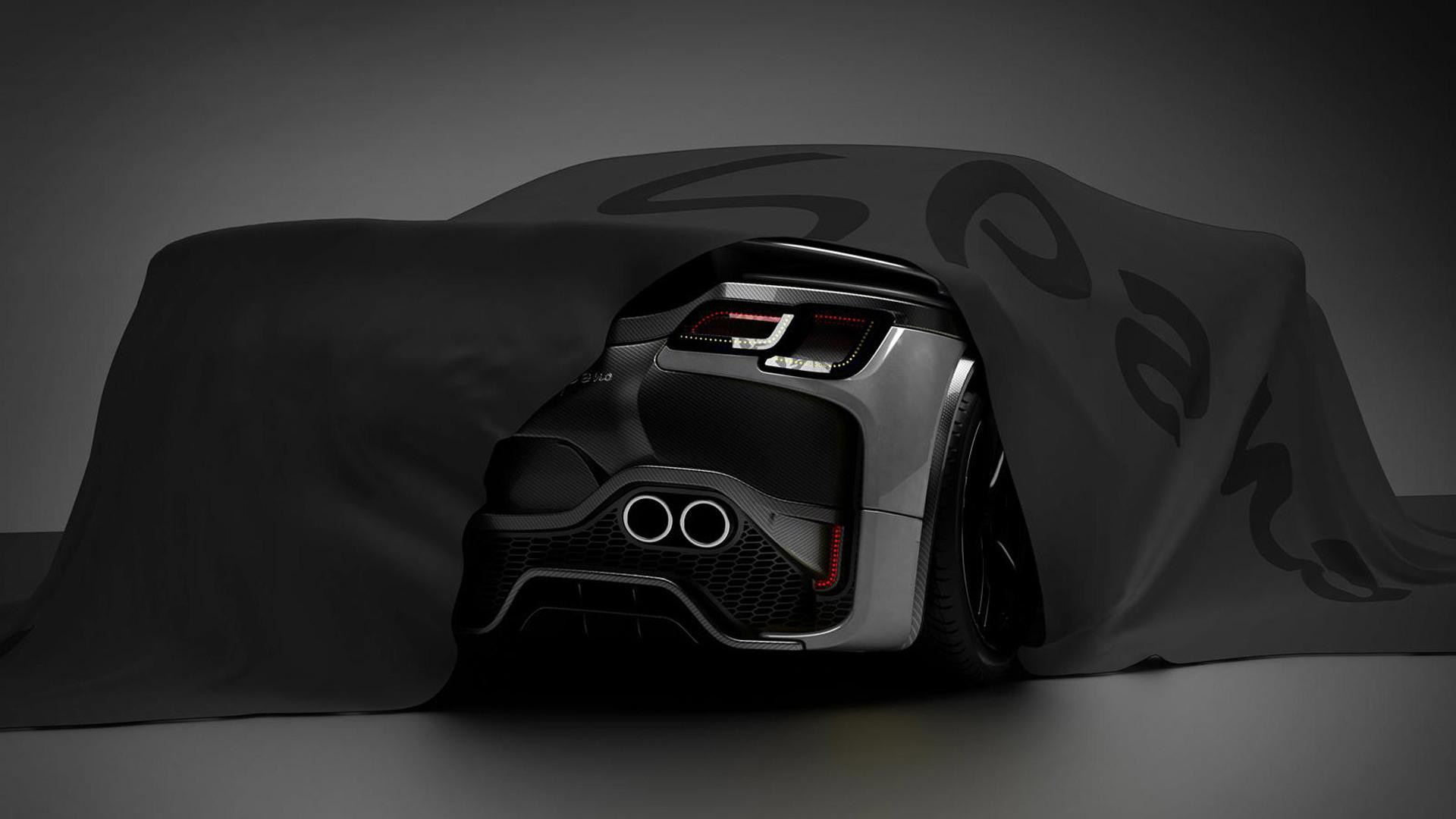 Teaser for 2015 GTA Spano debuting at 2015 Geneva Motor Show