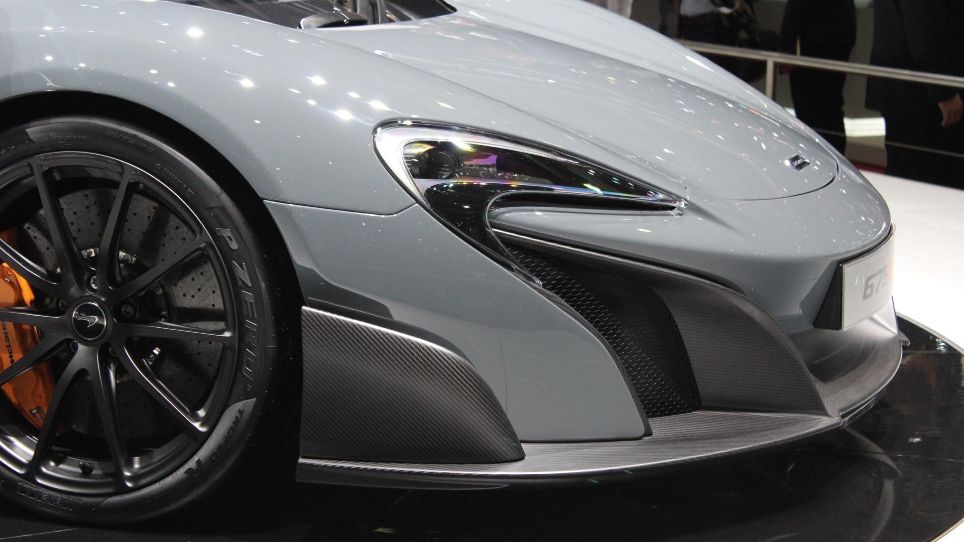 2016 McLaren 675LT  -  2015 Geneva Motor Show live photos