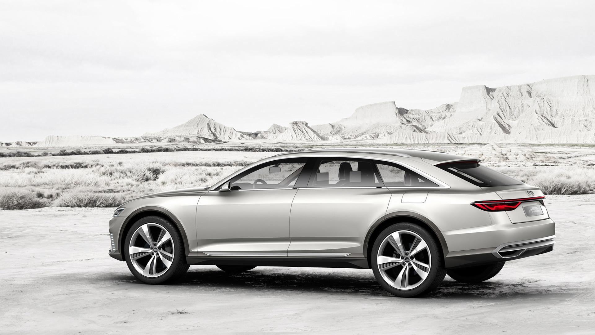 Audi Prologue Allroad concept, 2015 Shanghai Auto Show