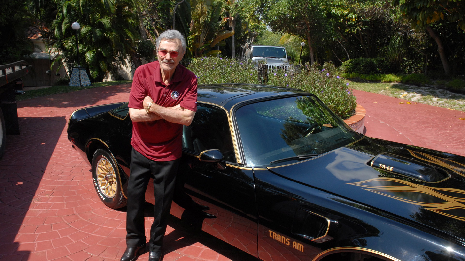 Burt Reynolds and his 'Bandit' 1977 Pontiac Trans Am