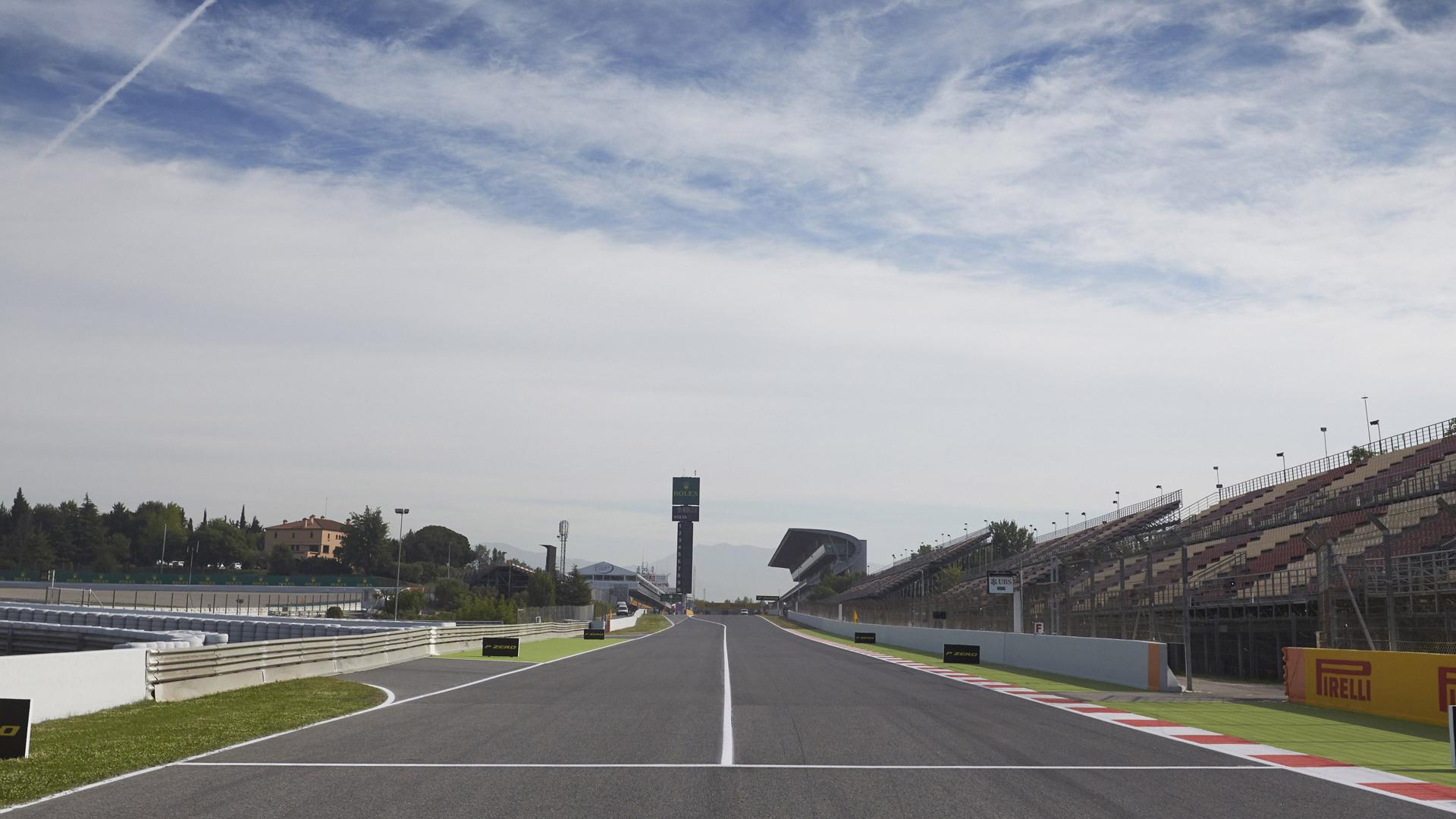 Circuit de Catalunya, home of the Formula 1 Spanish Grand Prix