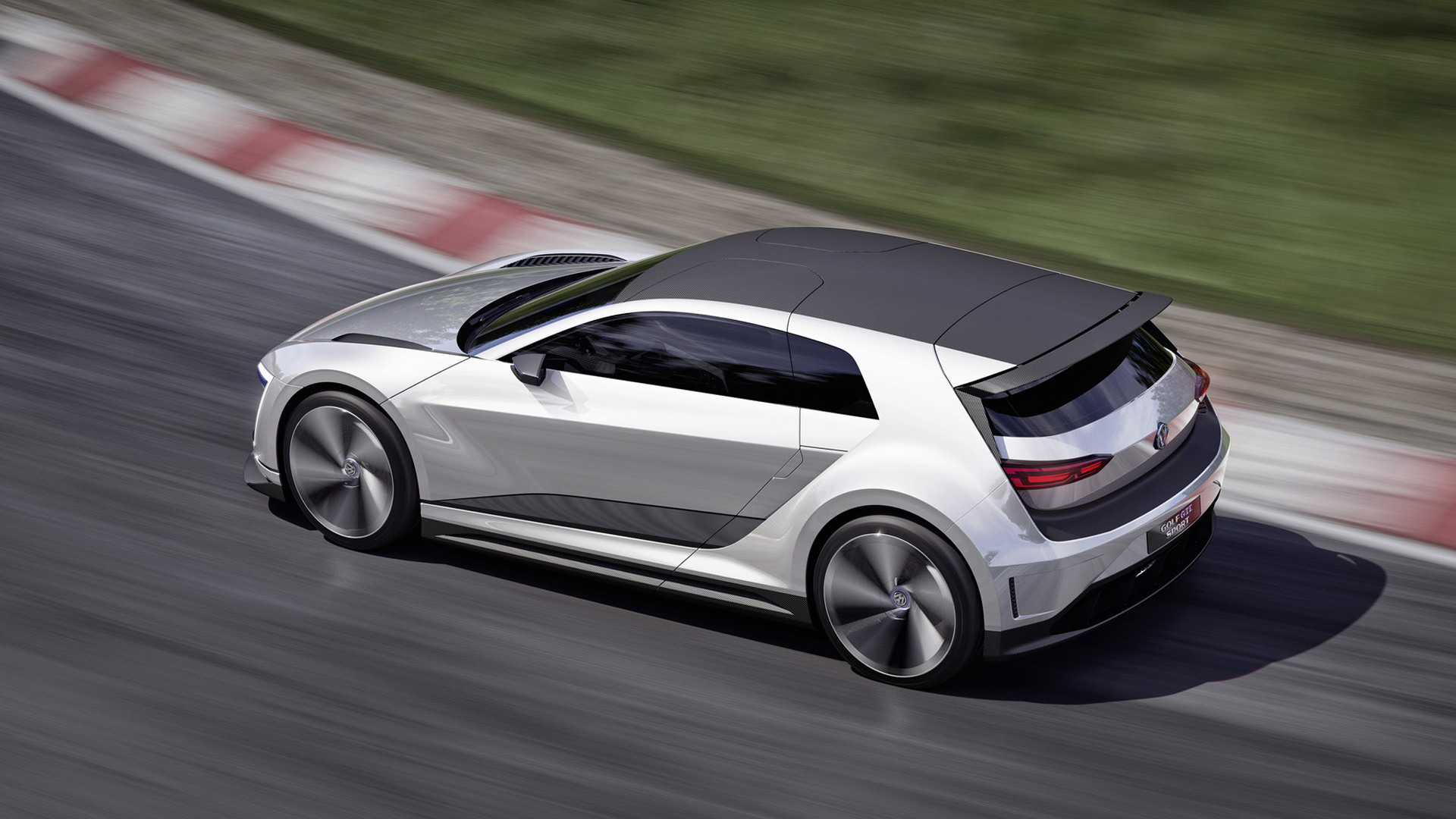 Vw Golf Gte Sport Concept 174 Mph Plug In Hybrid Carbon Bodied Golf