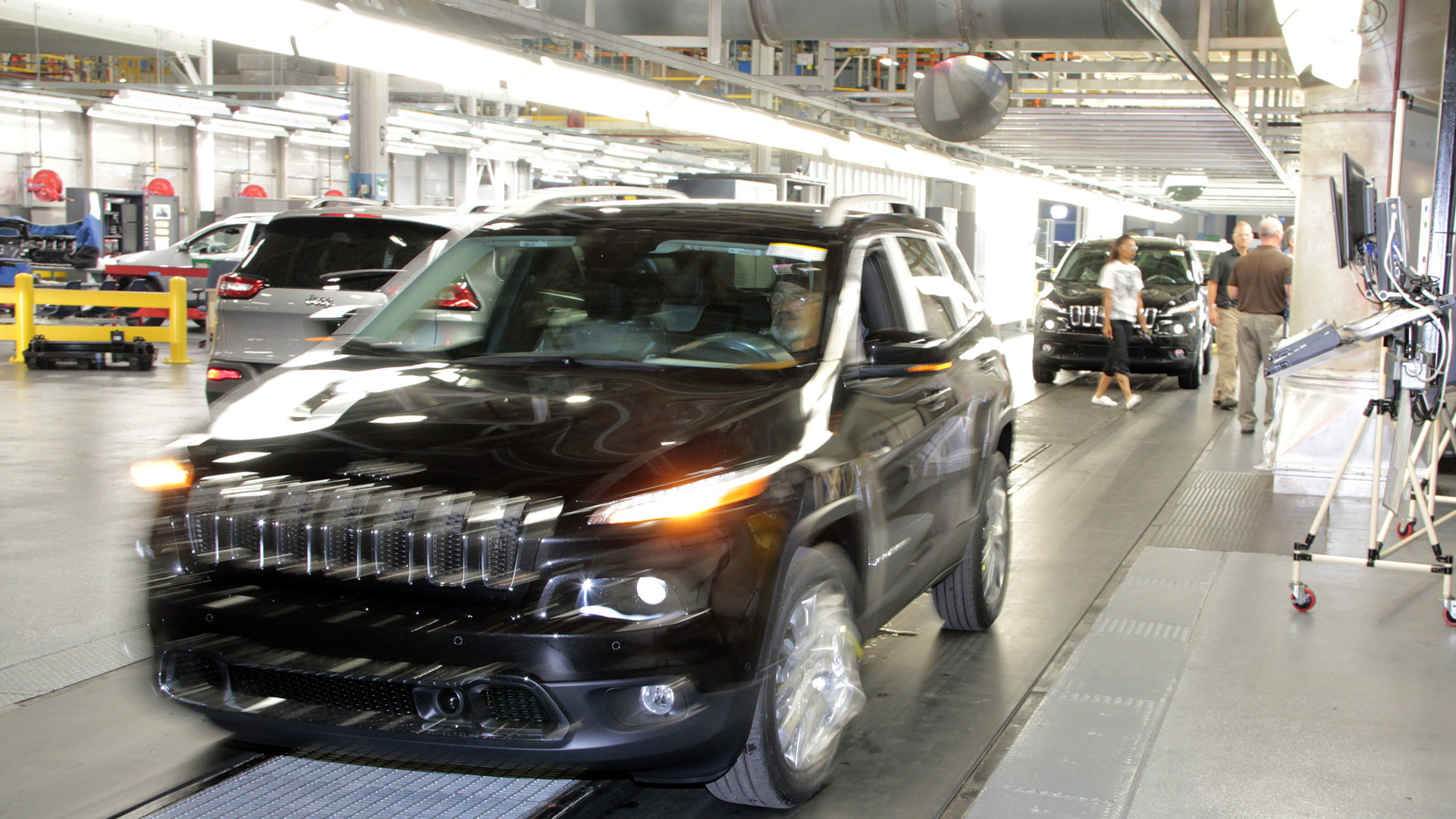 Jeep Cherokee production