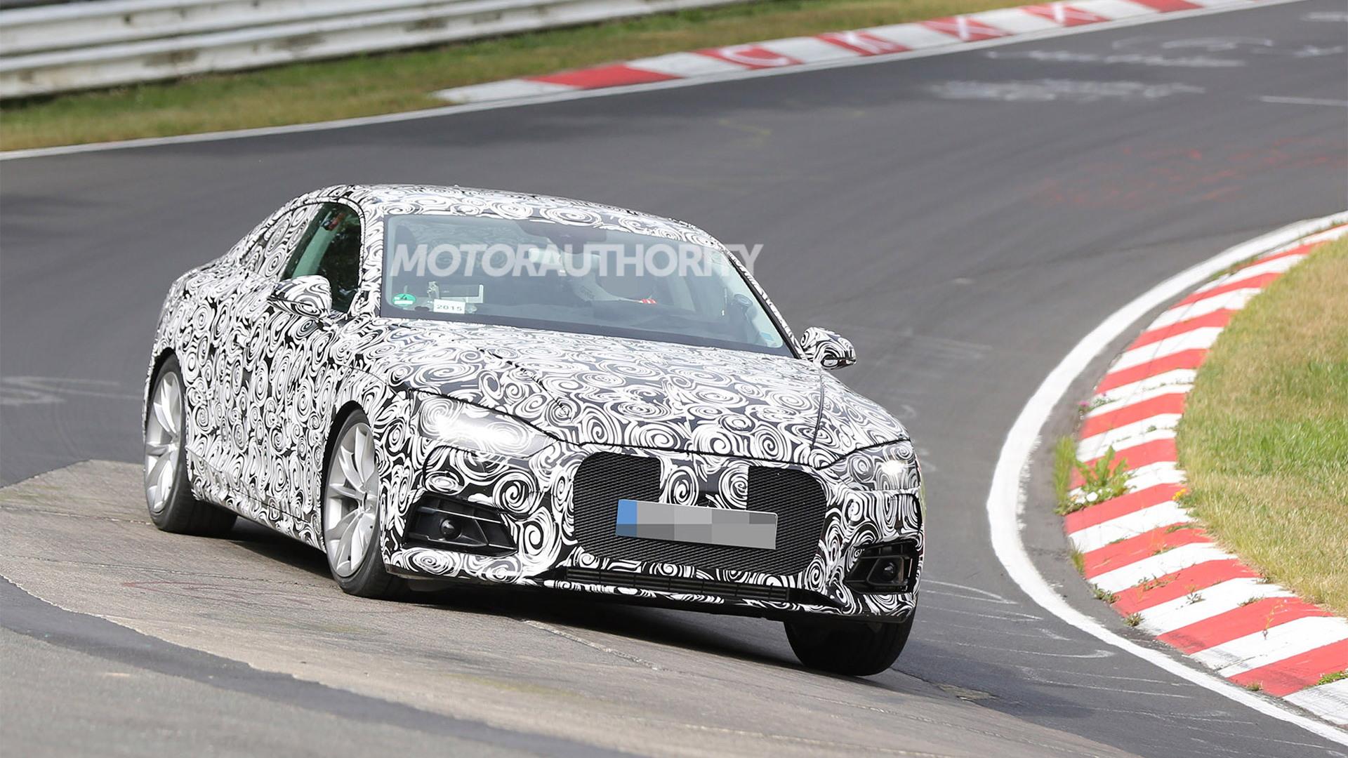2018 Audi S5 spy shots - Image via S. Baldauf/SB-Medien