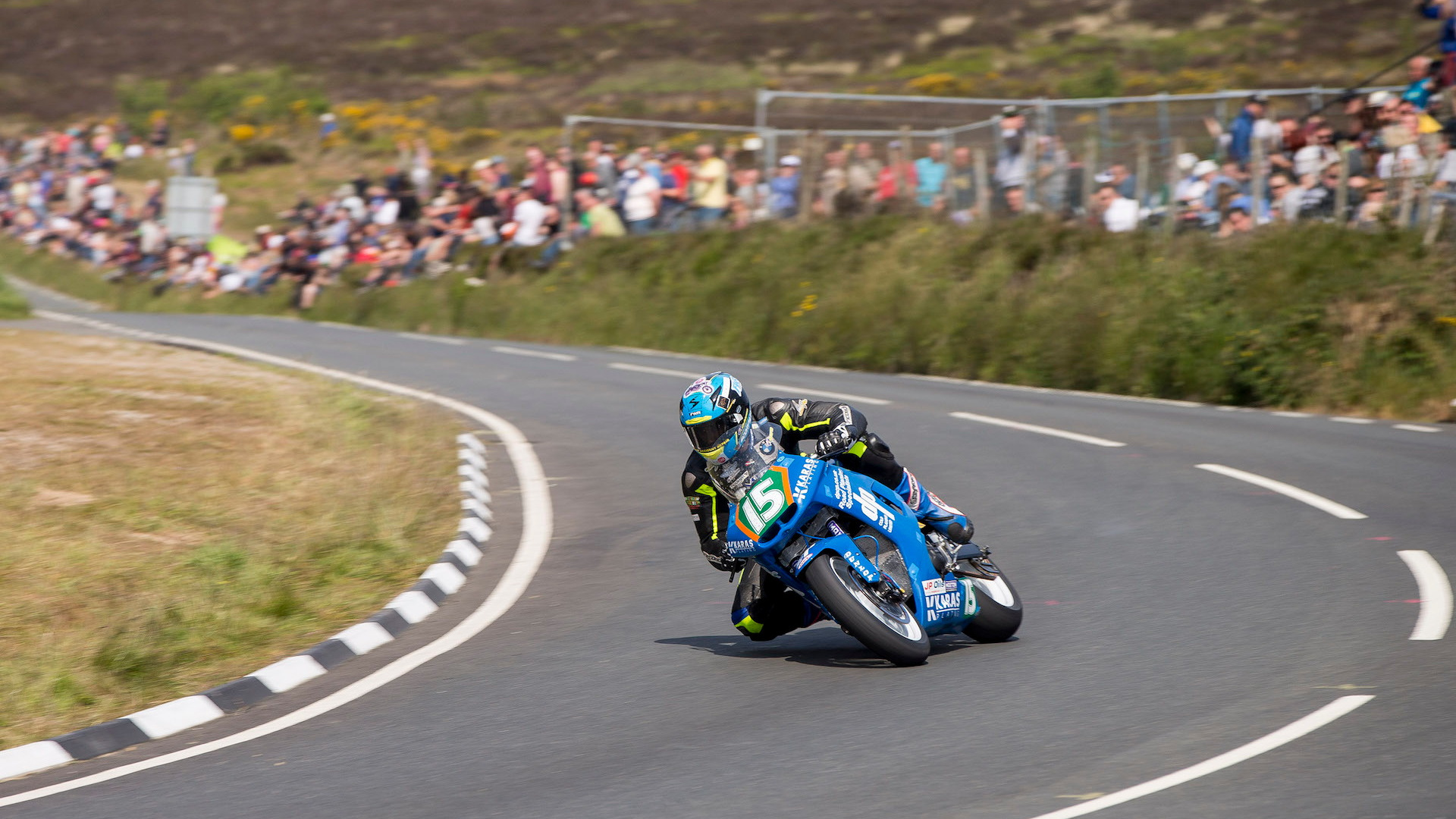 Isle of Man TT 2015 and ride-along with Mark Higgins