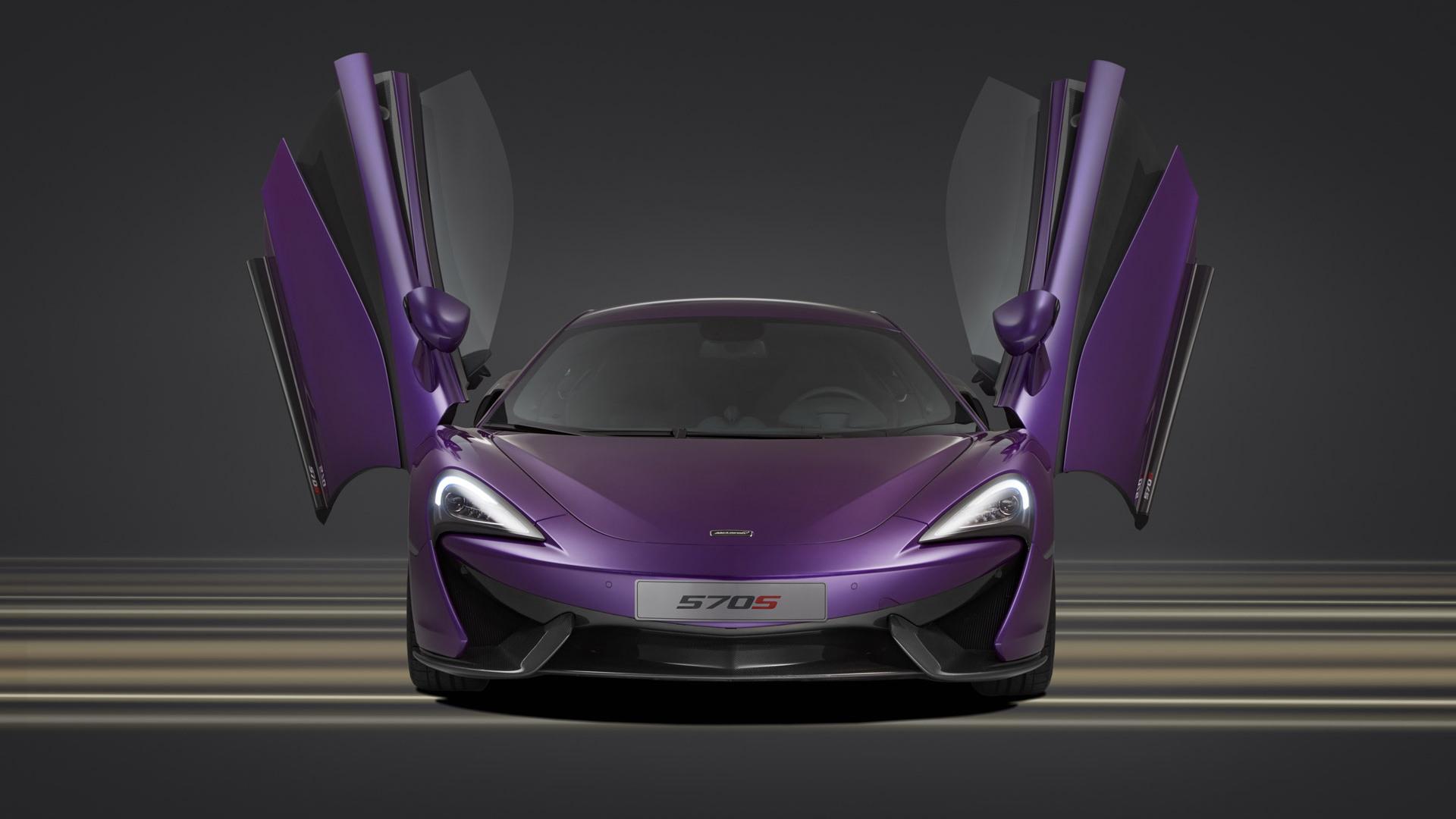 McLaren 570S by MSO, 2015 Pebble Beach Concours d'Elegance