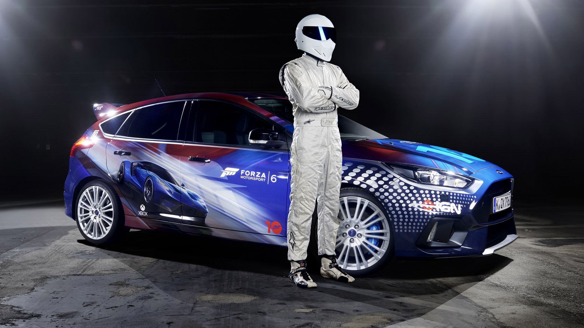 One-off Ford Focus RS with livery designed by Forza Motorsport gamers