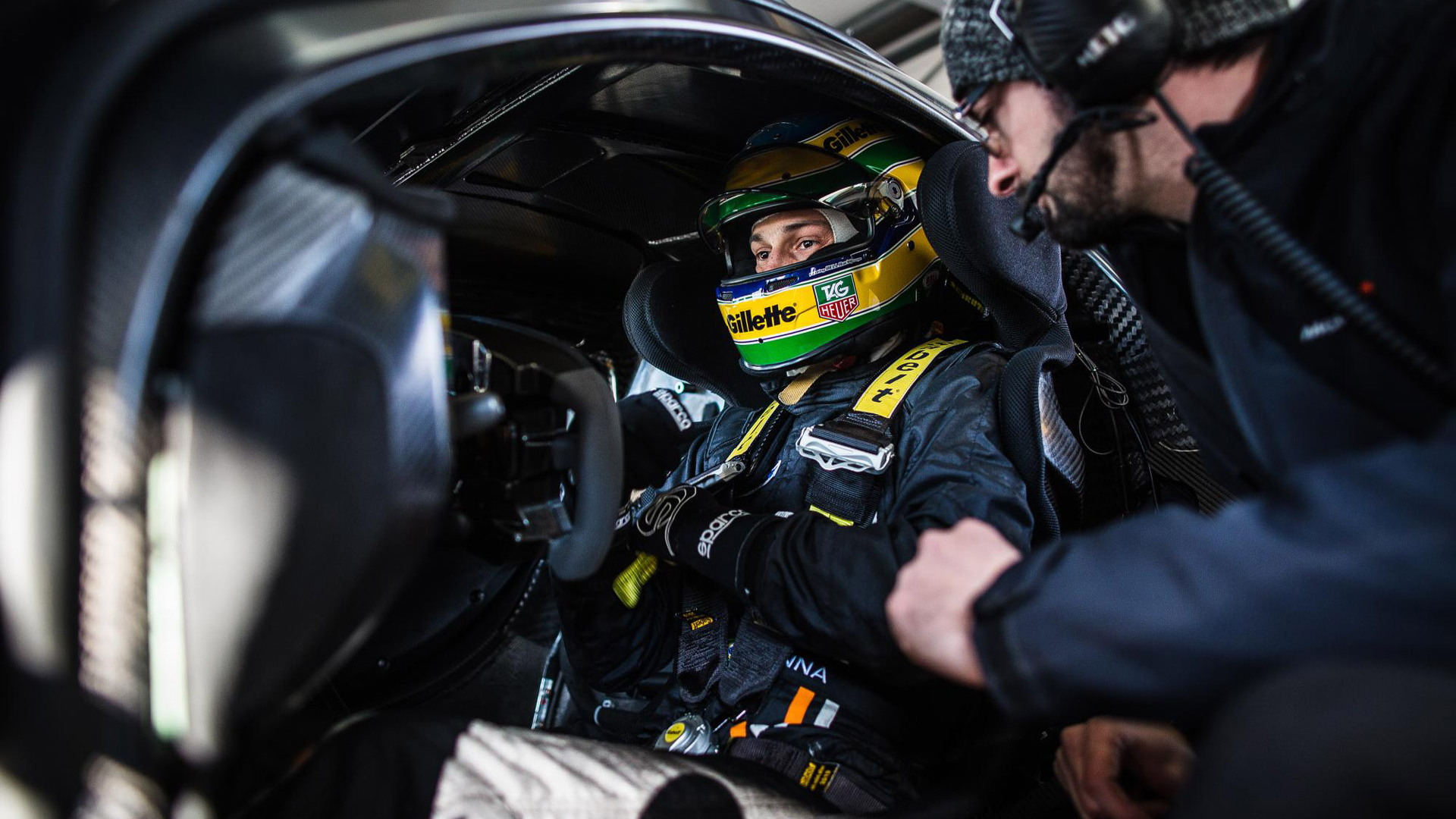 Bruno Senna in the McLaren P1 GTR