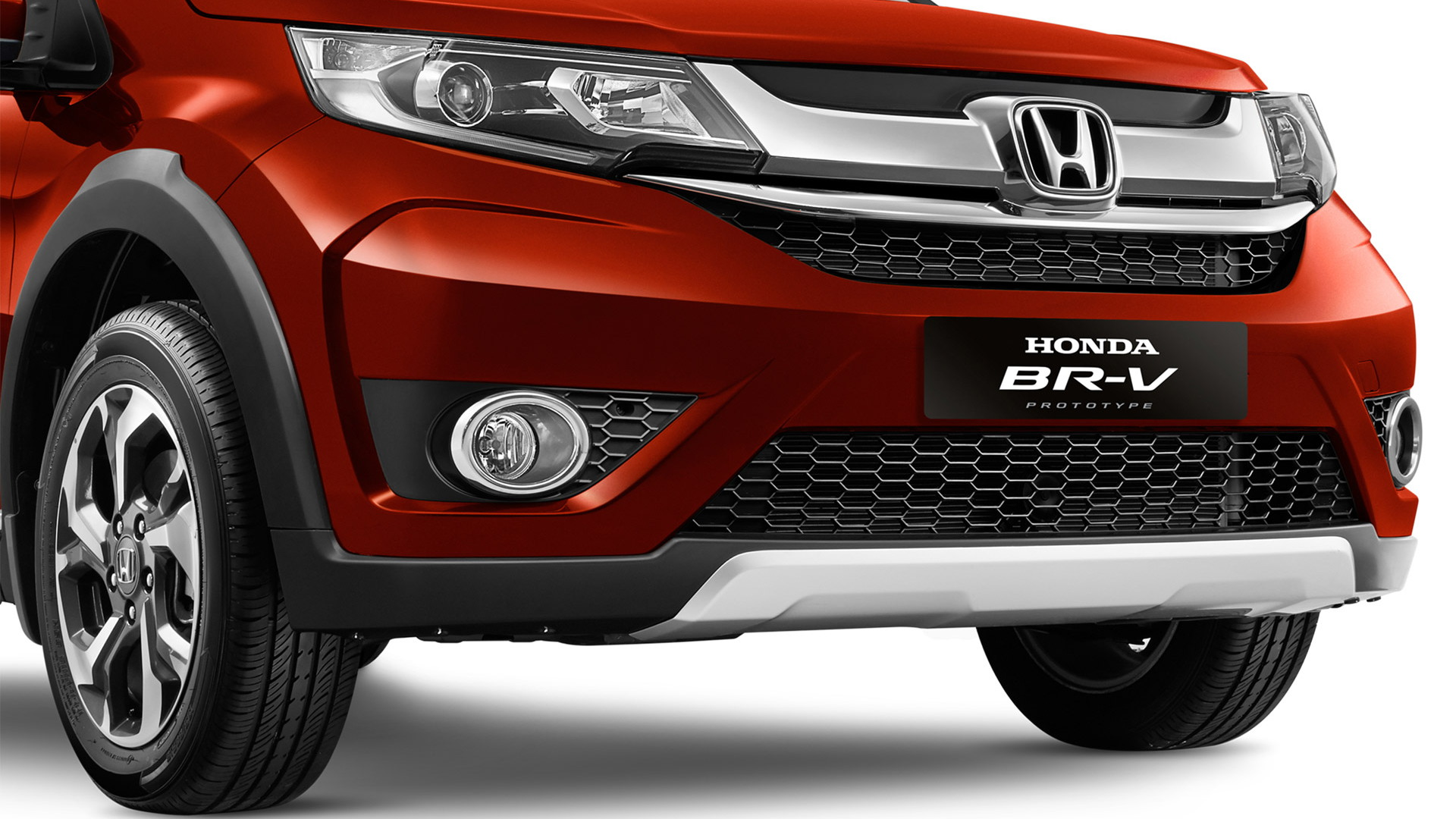 Honda BR-V prototype, 2015 Indonesian Auto Show