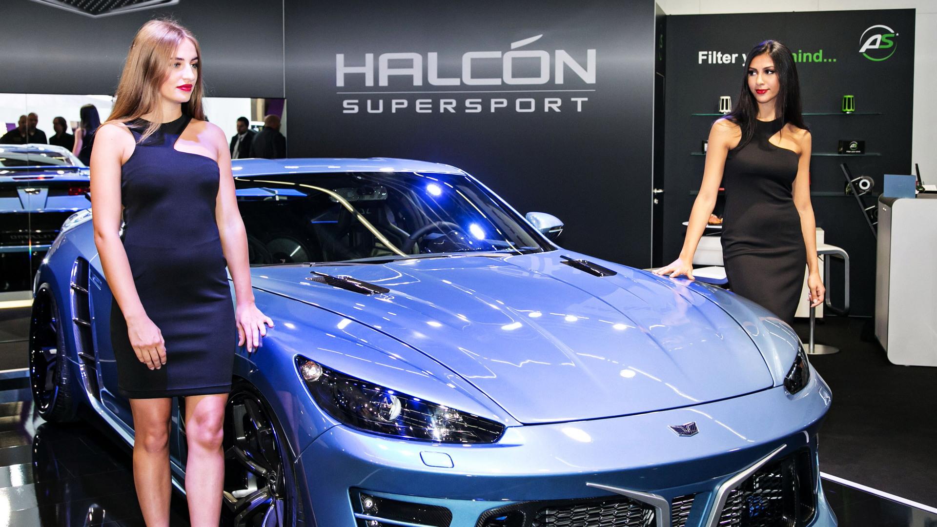 Halcón SuperSport Falcarto, 2015 Frankfurt Auto Show