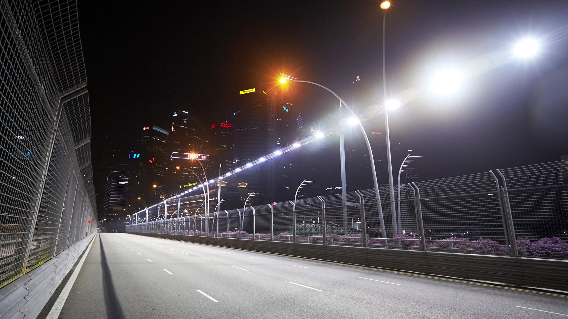 Marina Bay Circuit, home of the Formula 1 Singapore Grand Prix
