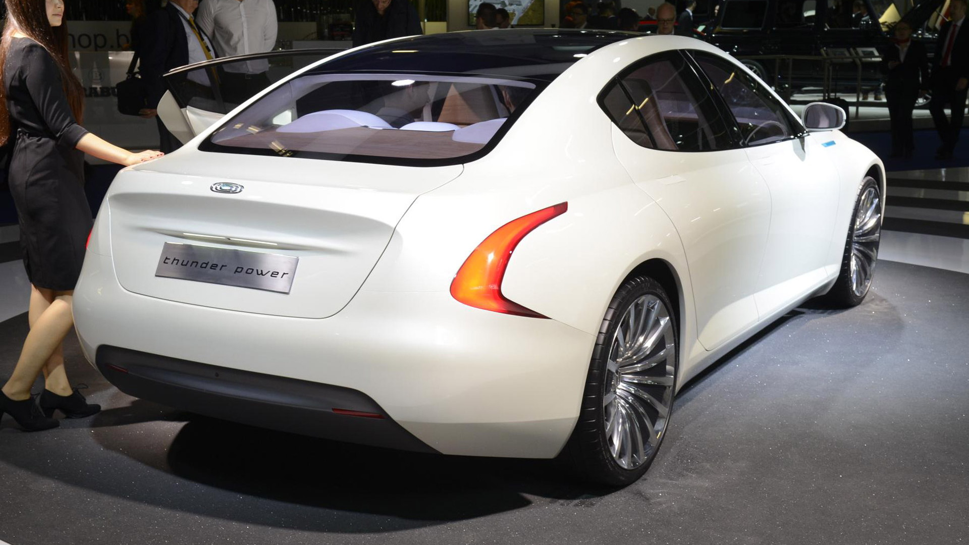 Thunder Power Sedan concept, 2015 Frankfurt Auto Show