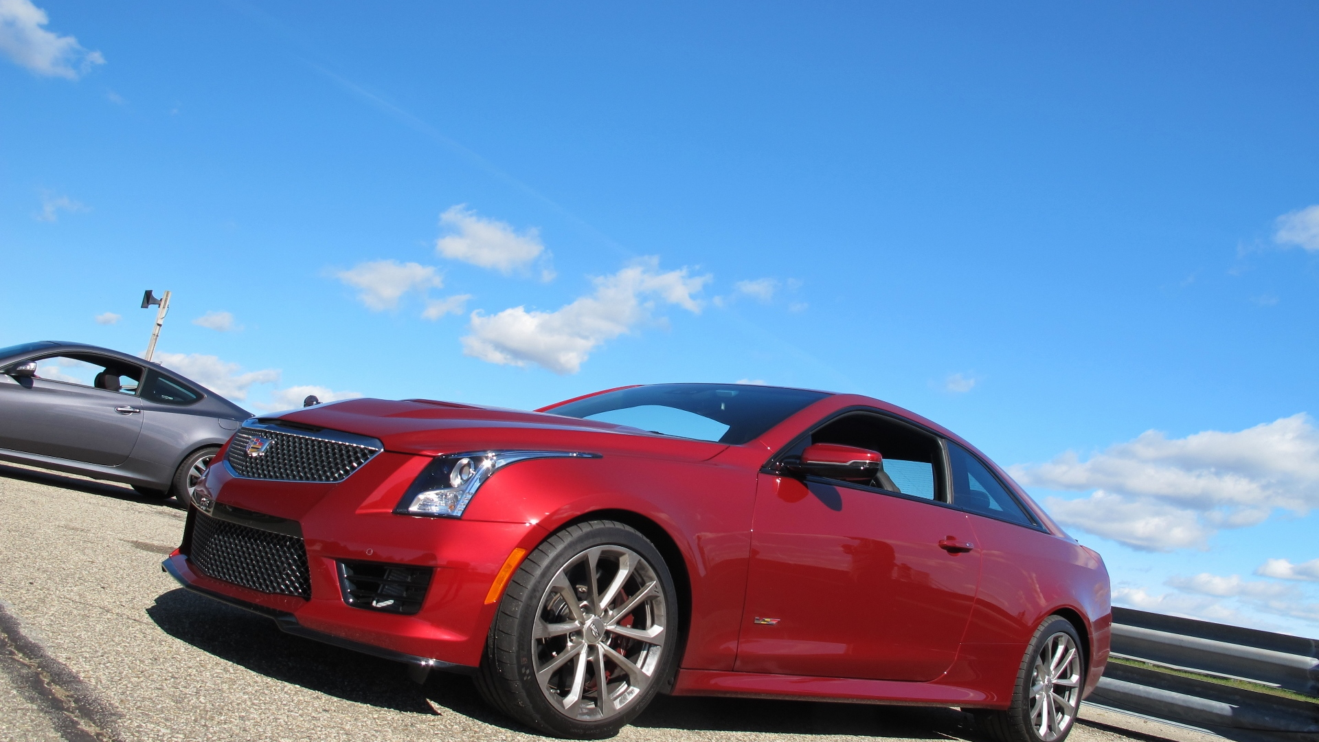 2016 Cadillac ATS-V Coupe track day event