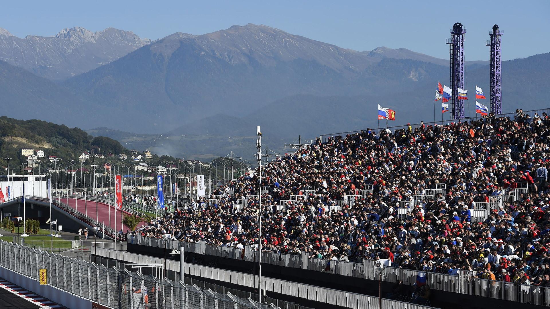 Sochi Autodrom, home of the Formula 1 Russian Grand Prix