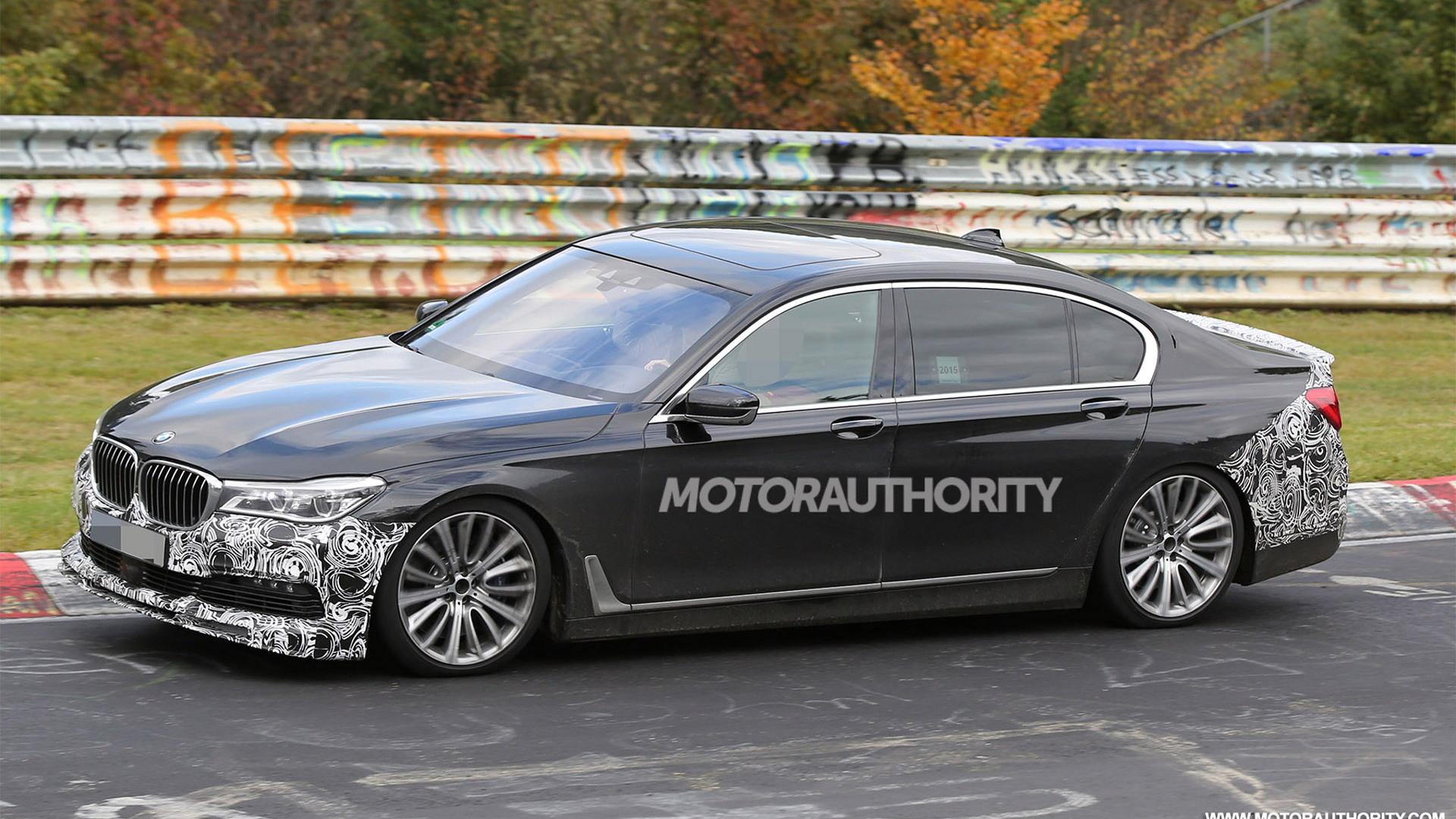 2017 BMW Alpina B7 spy shots - Image via S. Baldauf/SB-Medien